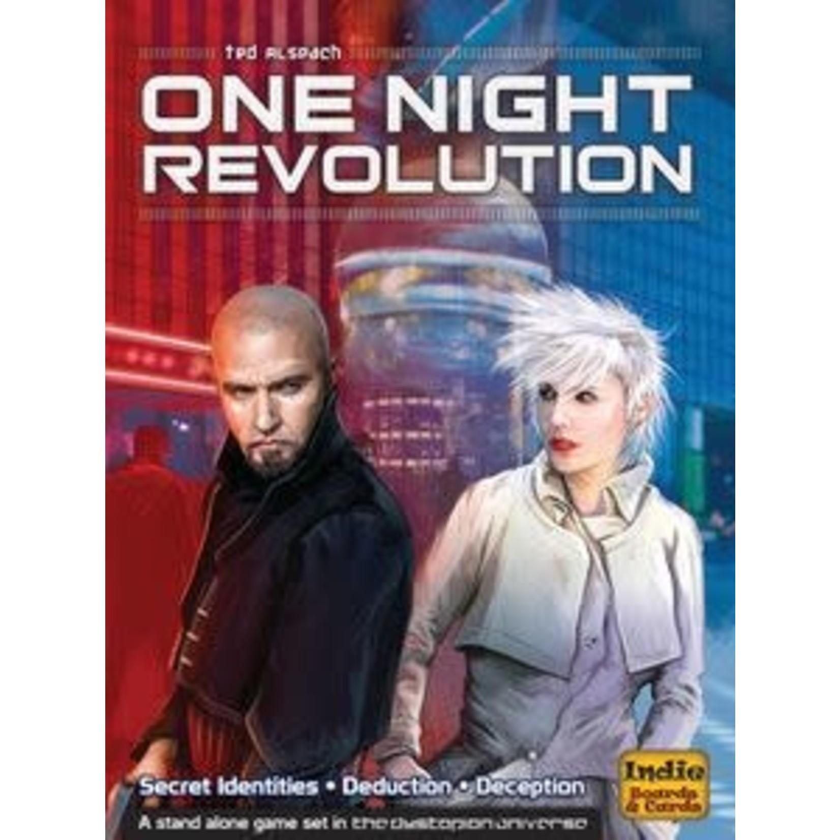One Night: Revolution Board Game