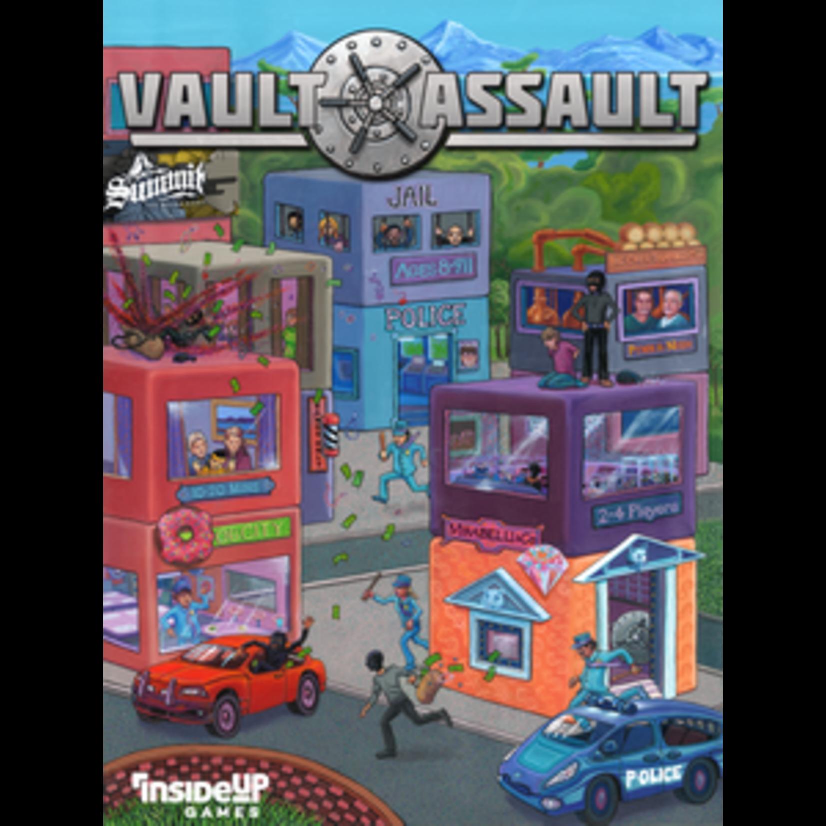 Vault Assault Board Game
