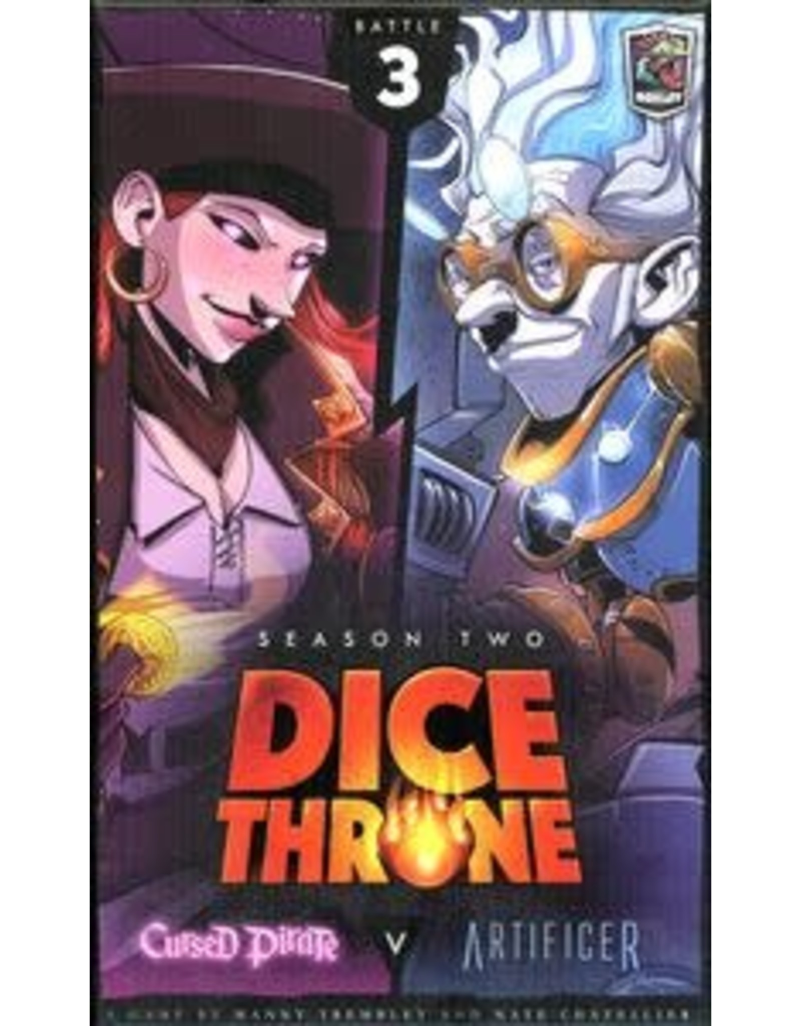 Dice Throne Season 2: Cursed Pirate vs. Artificer