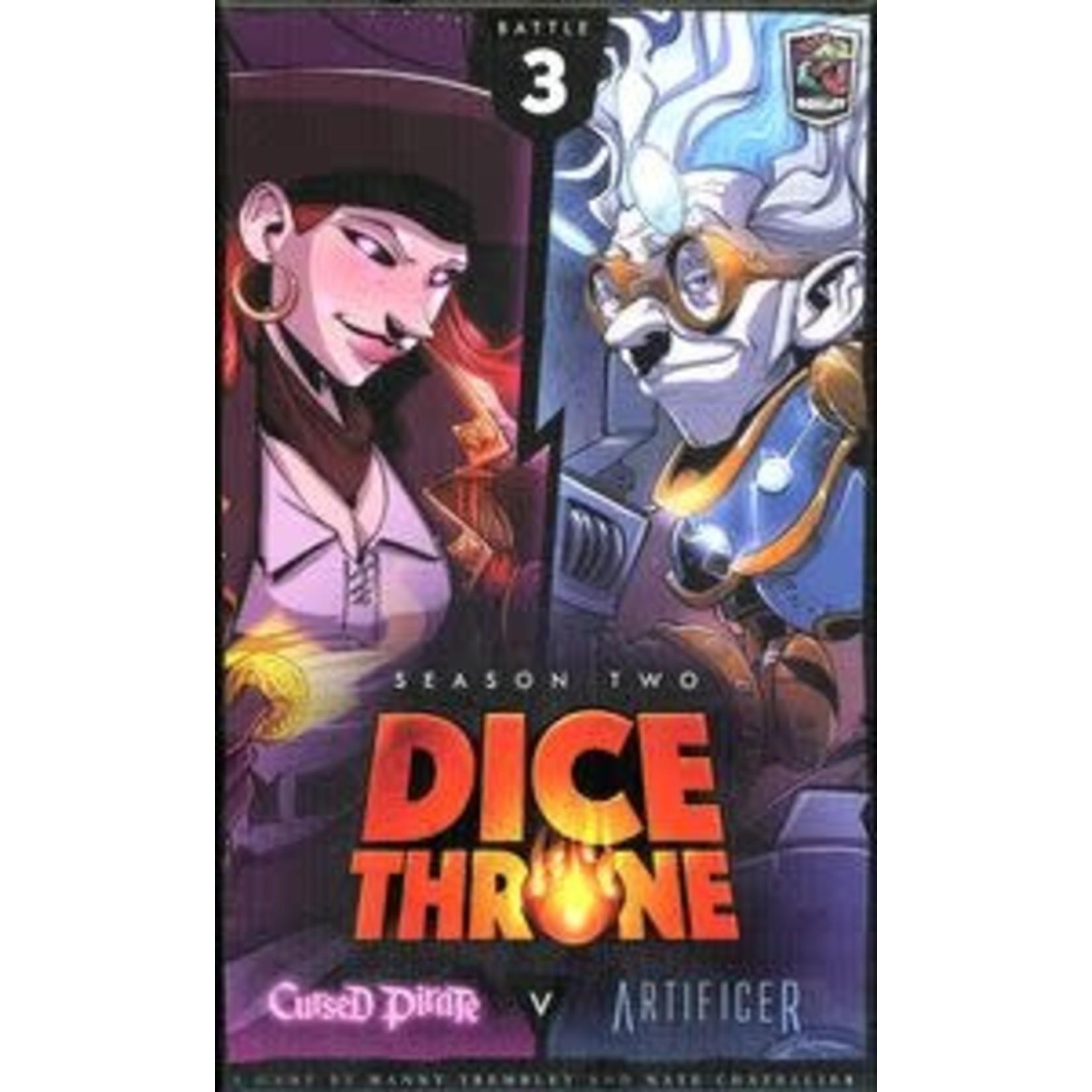 Dice Throne Season 2: Cursed Pirate vs. Artificer