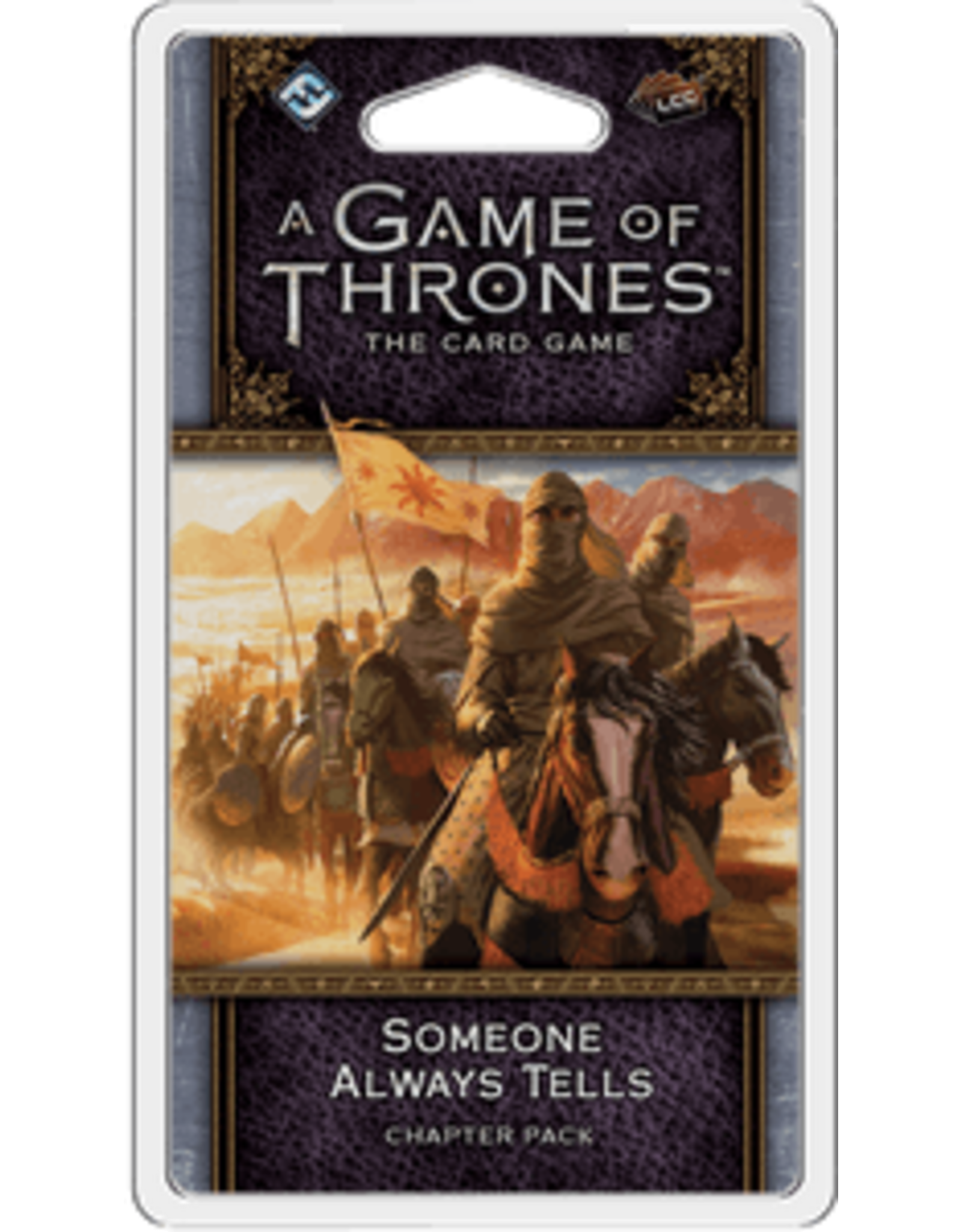 Game of Thrones LCG Someone Always Tells Chapter Pack