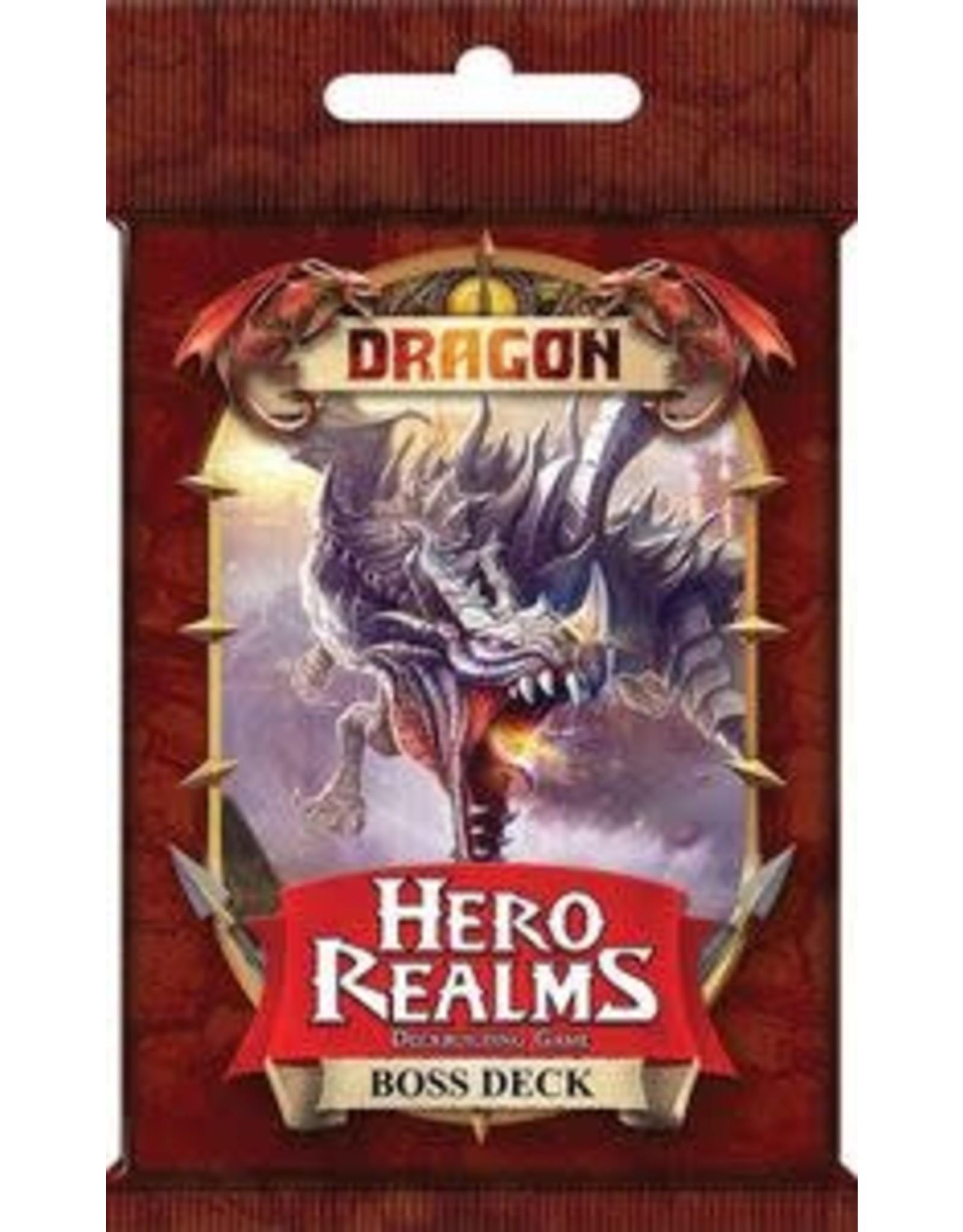 Hero Realms DBG Dragon Boss Deck