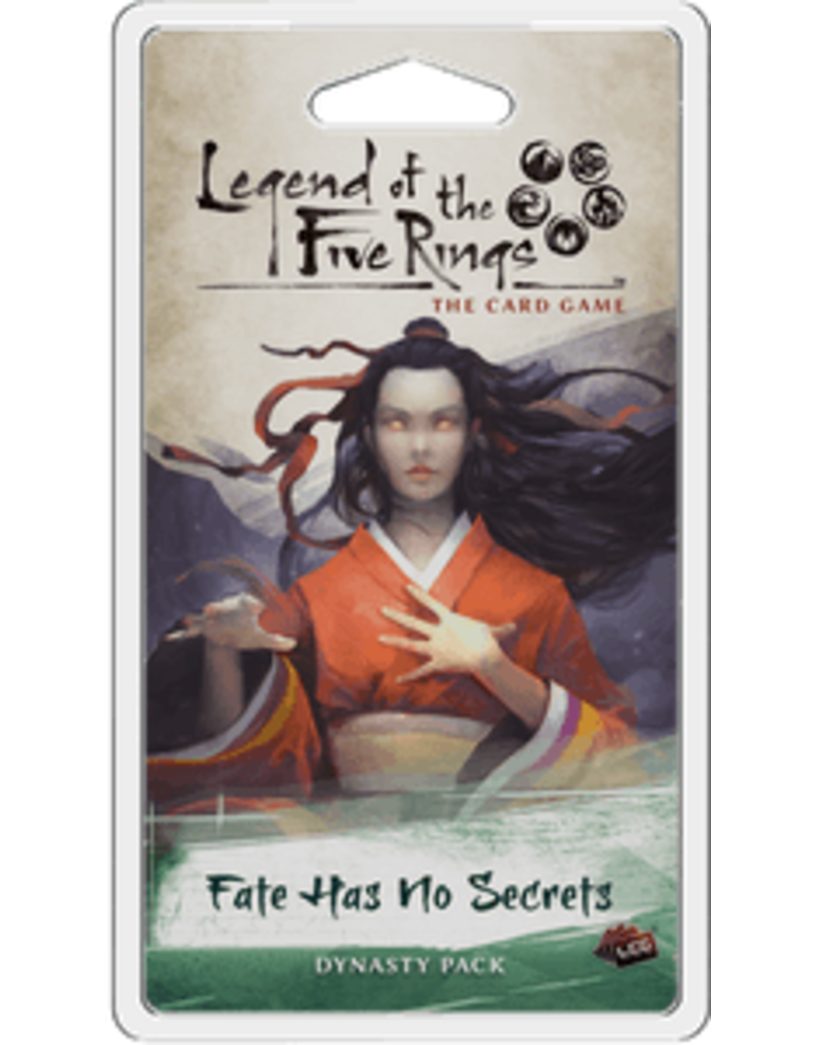 Legend of the Five Rings LCG Fate Has No Secrets Dynasty Pack