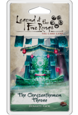 Legend of the Five Rings LCG The Chrysanthemum Throne Dynasty Pack