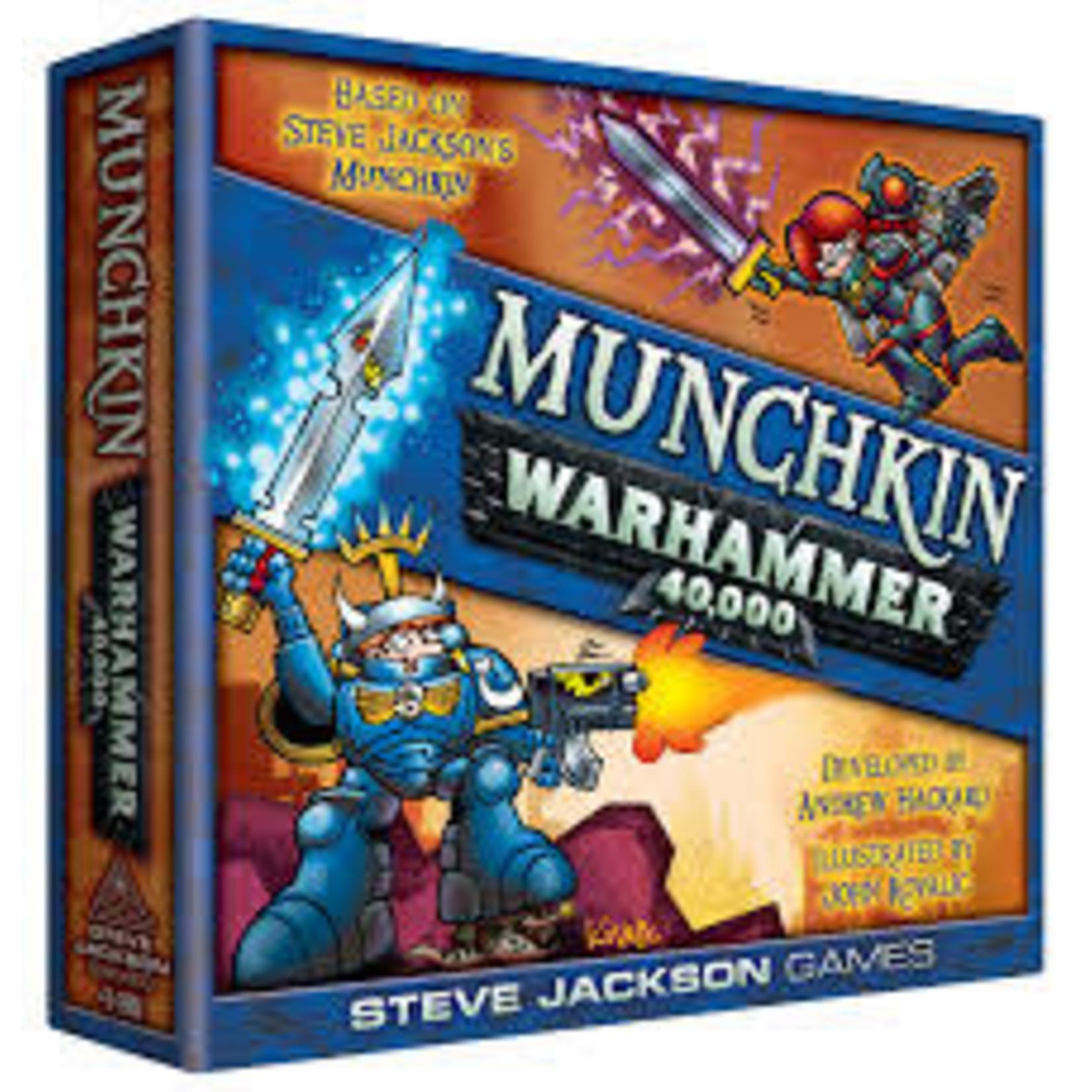 Munchkin Warhammer 40k Board Game