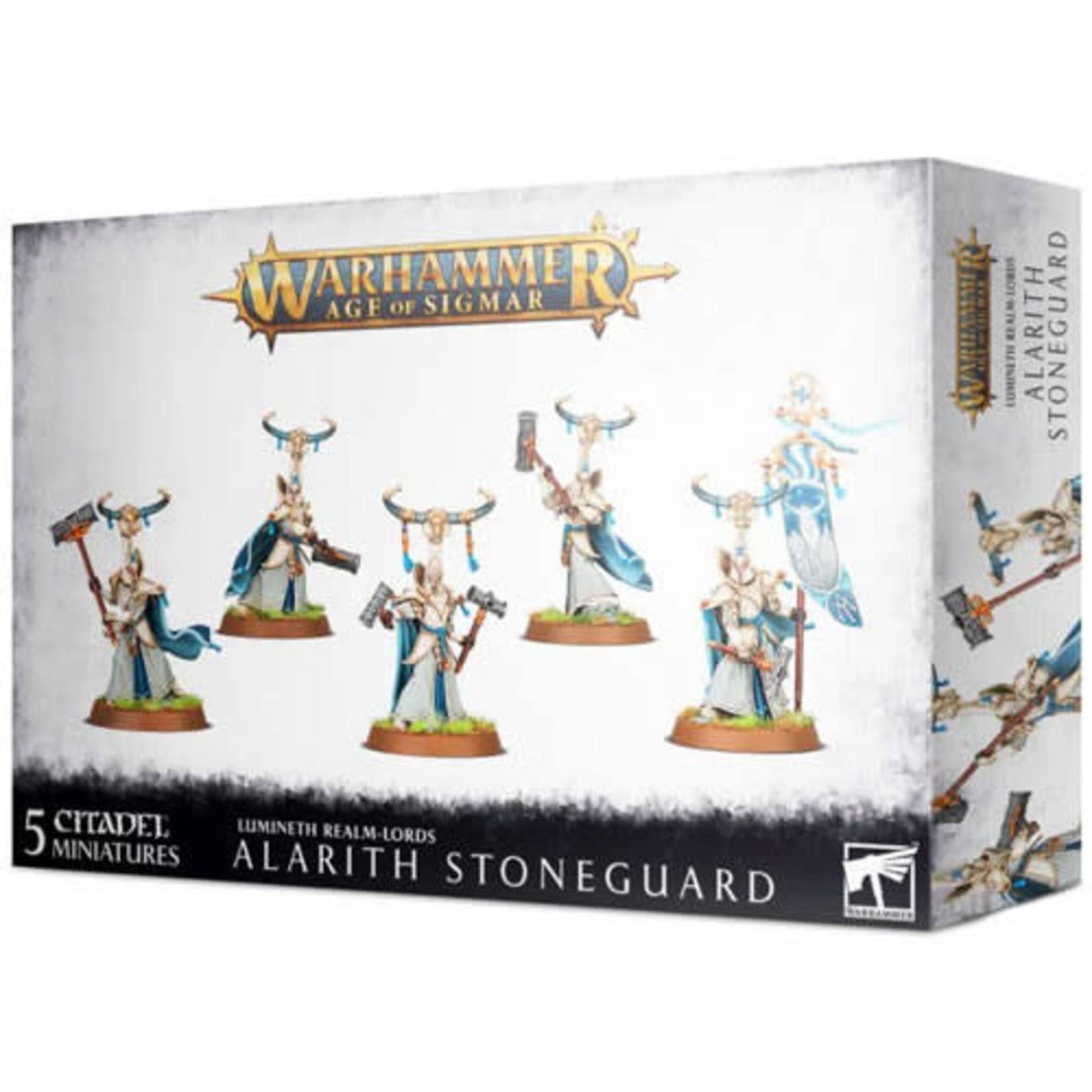 Lumineth Realm Lords Alarith Stoneguard (AOS)