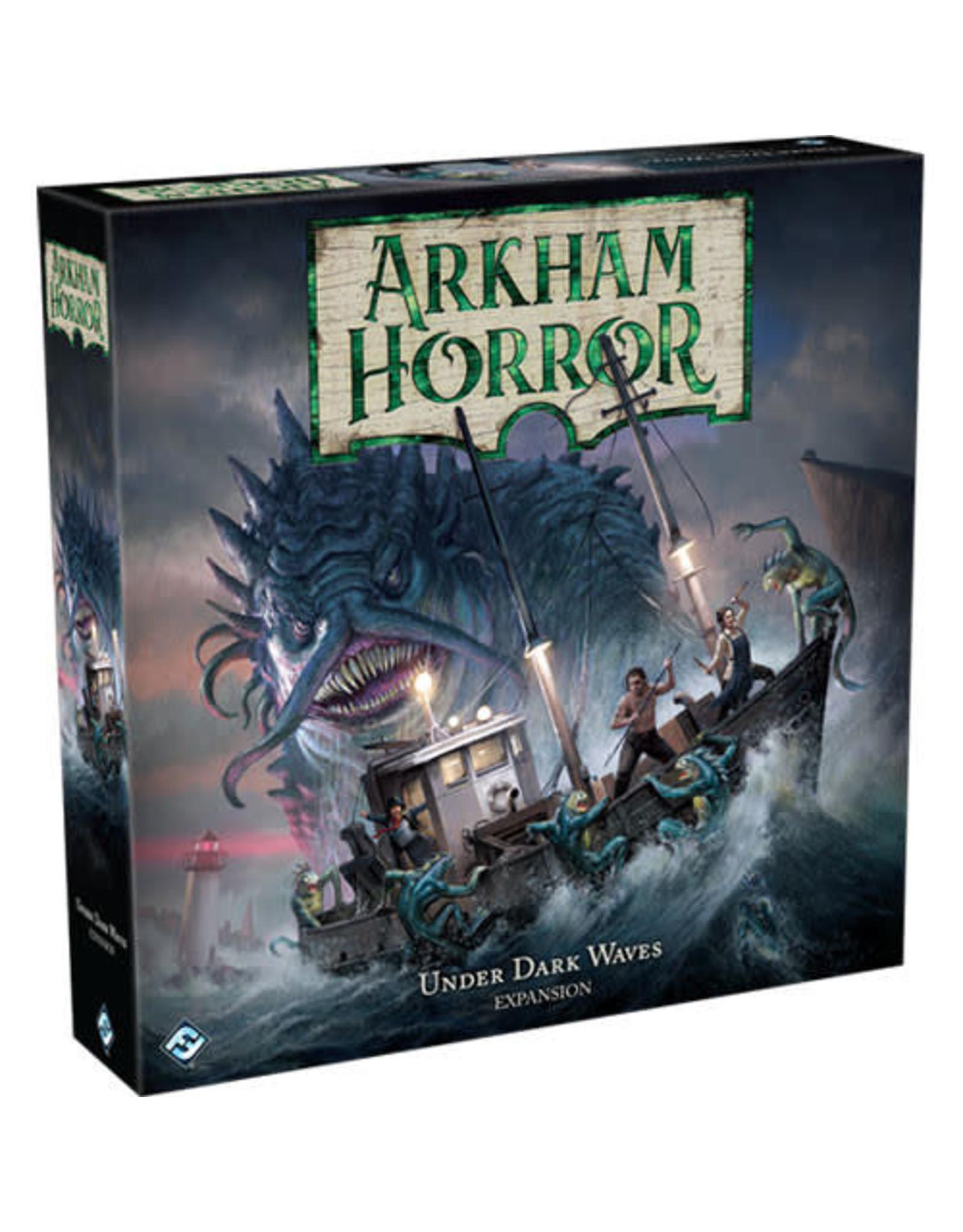 Arkham Horror Under Dark Waves Expansion Board Game