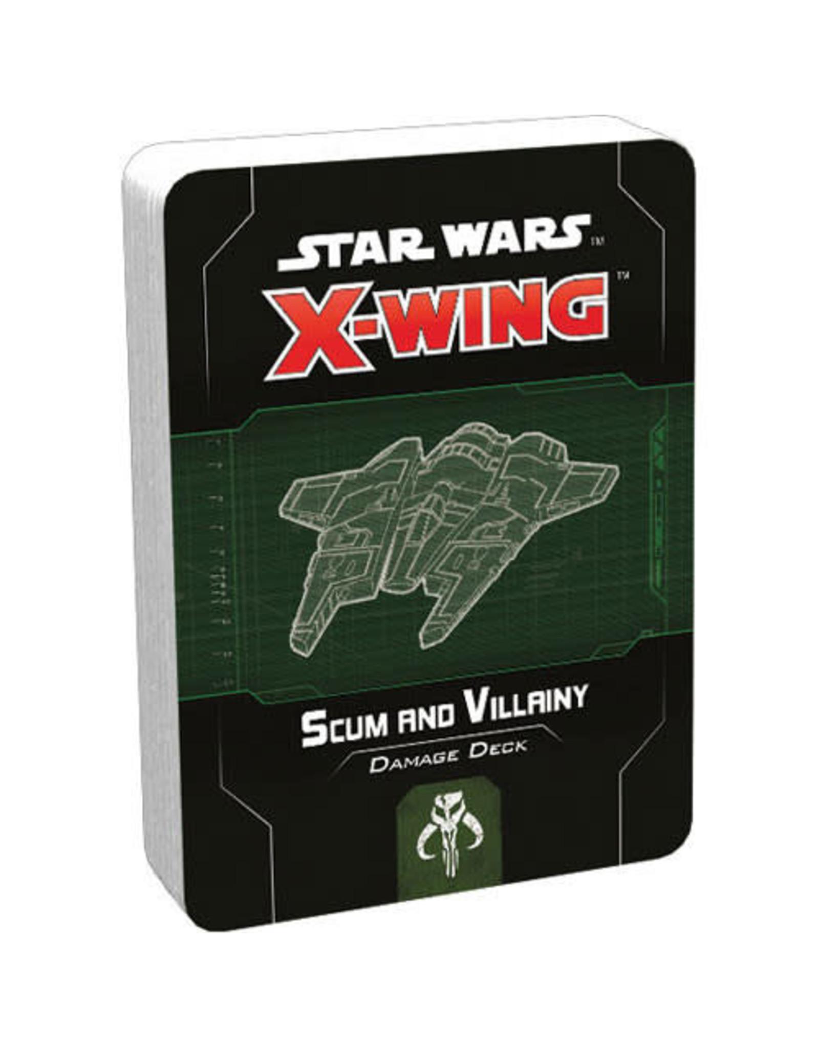 Star Wars X-Wing 2e: Scum and Villiany Damage Deck