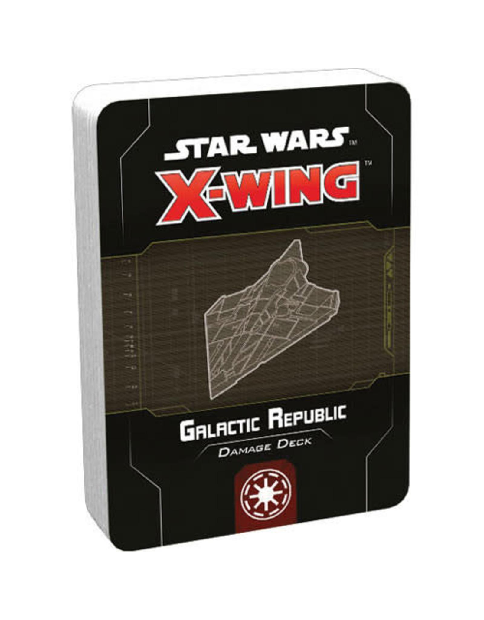 Star Wars X-Wing 2e: Galactic Republic Damage Deck