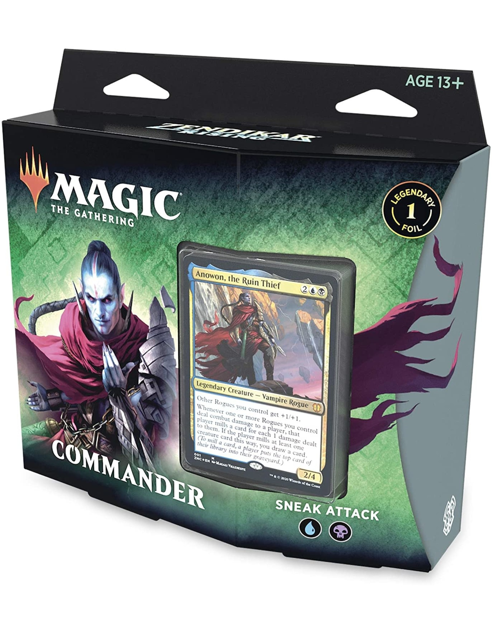 Wizards of the Coast Zendikar Rising Commander Sneak Attack