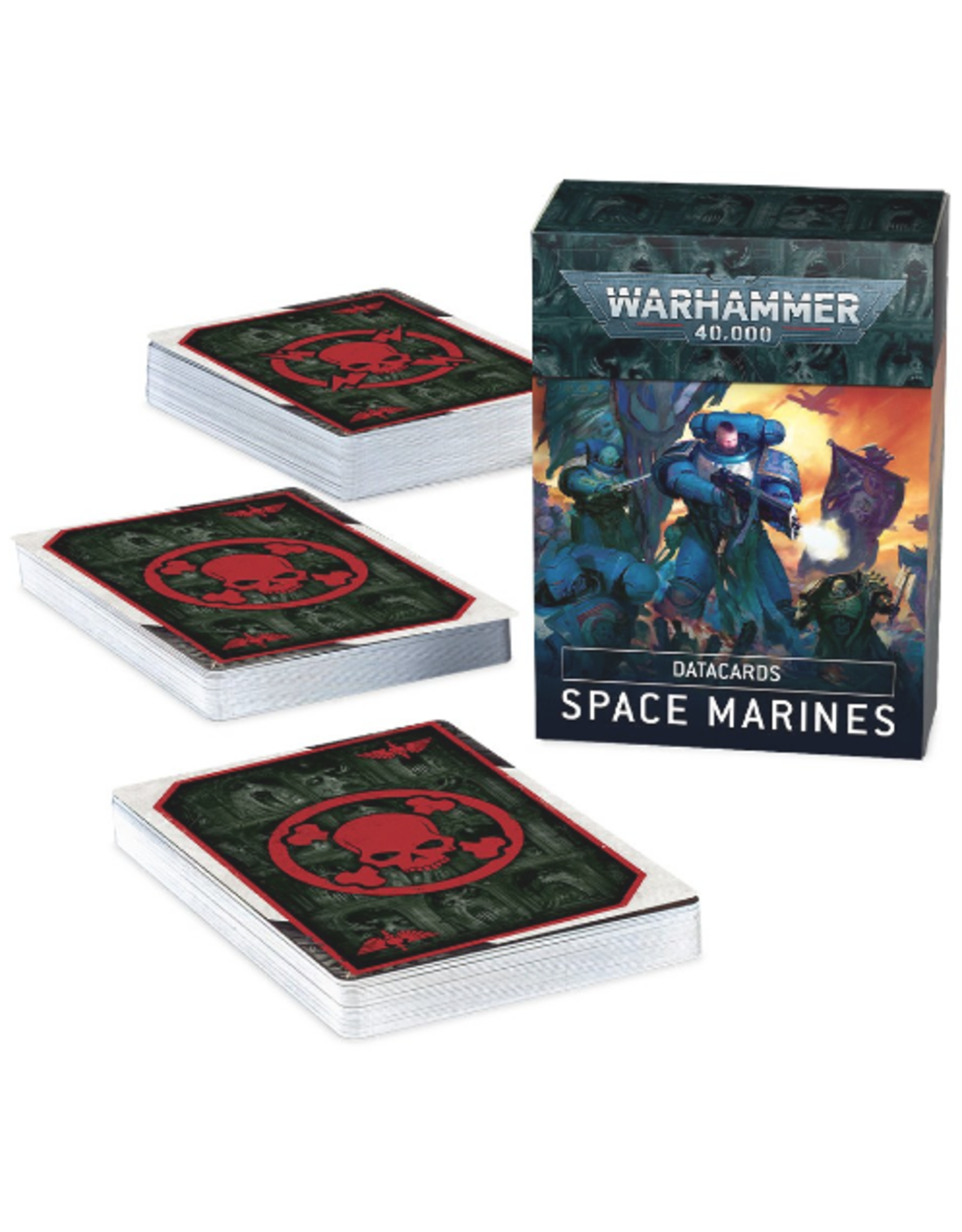 Space Marines 9th Data Cards (40K)