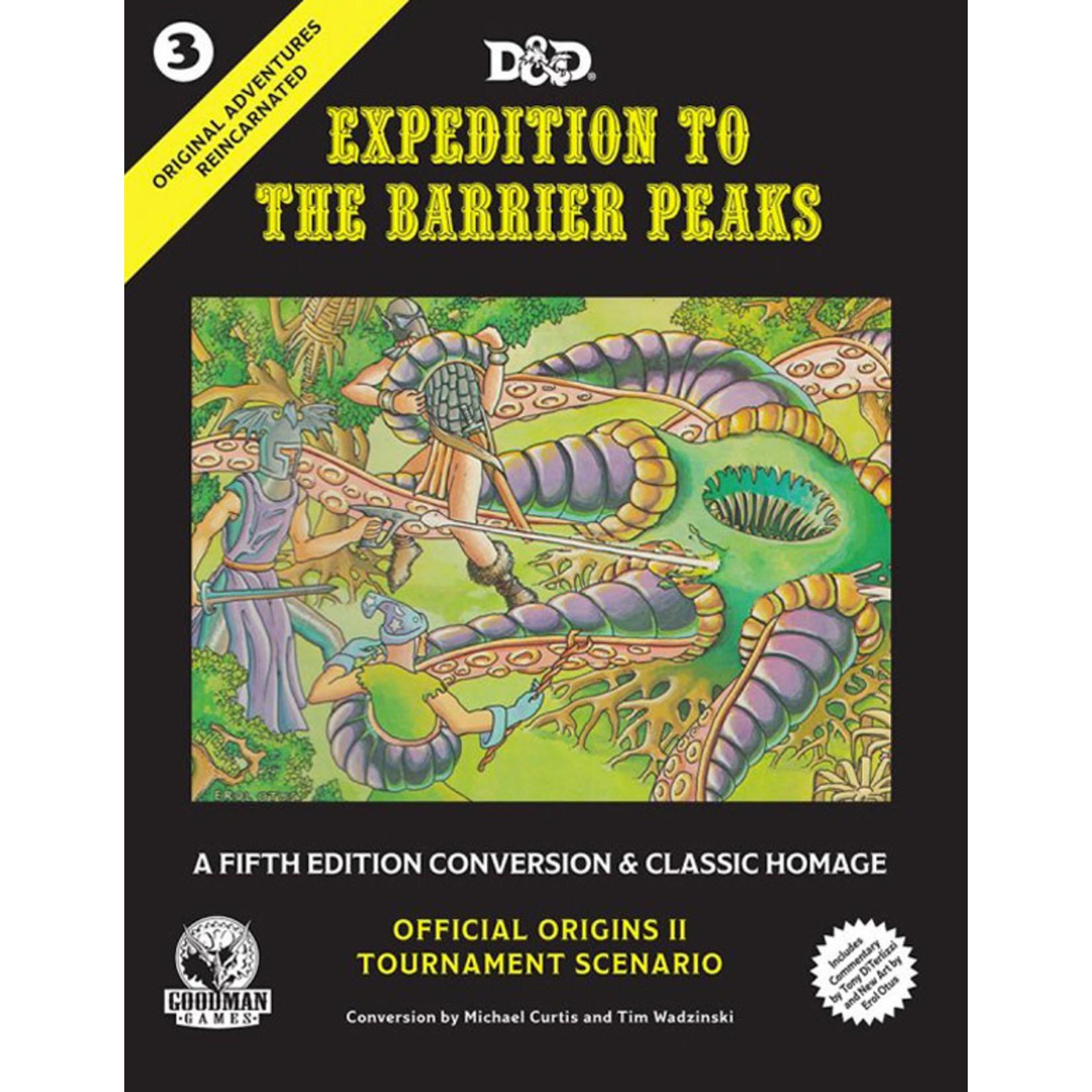 D&D 5e Original Adventures Reincarnated #3: Expedition to Barrier Peaks