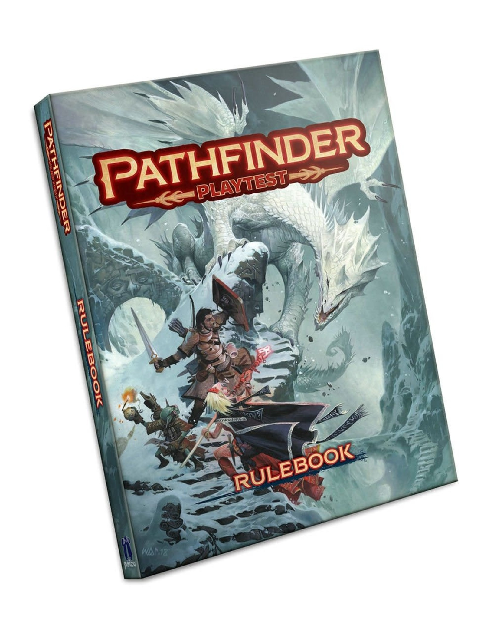 Pathfinder 2E Playtest Rulebook (Hardcover)