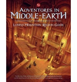 D&D Adventures in Middle-Earth Lonely Mountain  Region Guide