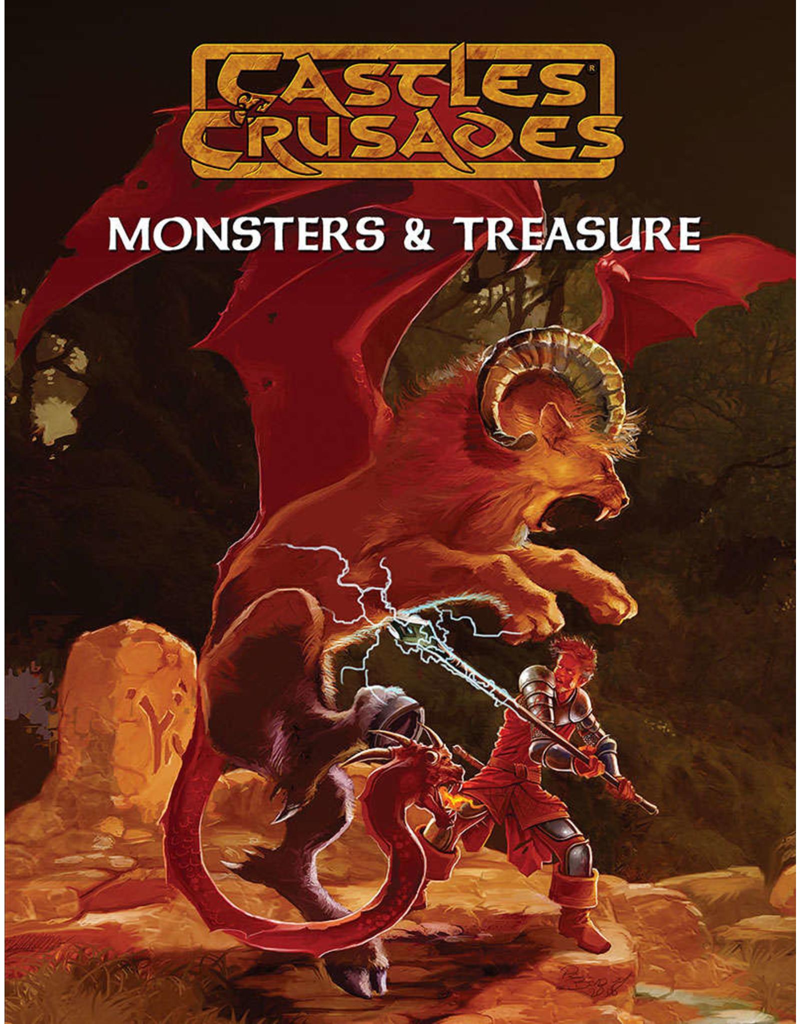 Castles & Crusades RPG Classic Monsters & Treasures