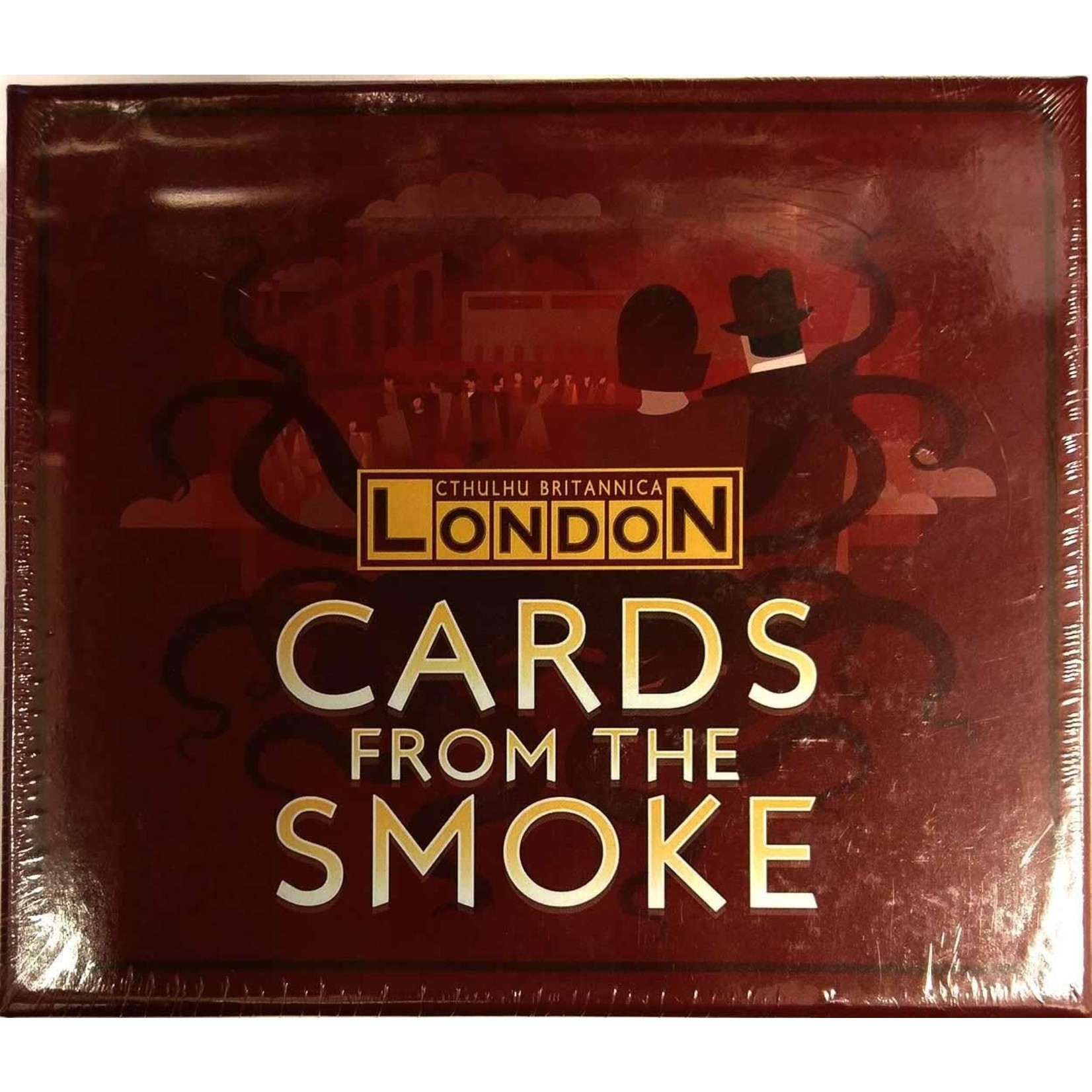 Cthulhu Britannica: Card from the Smoke