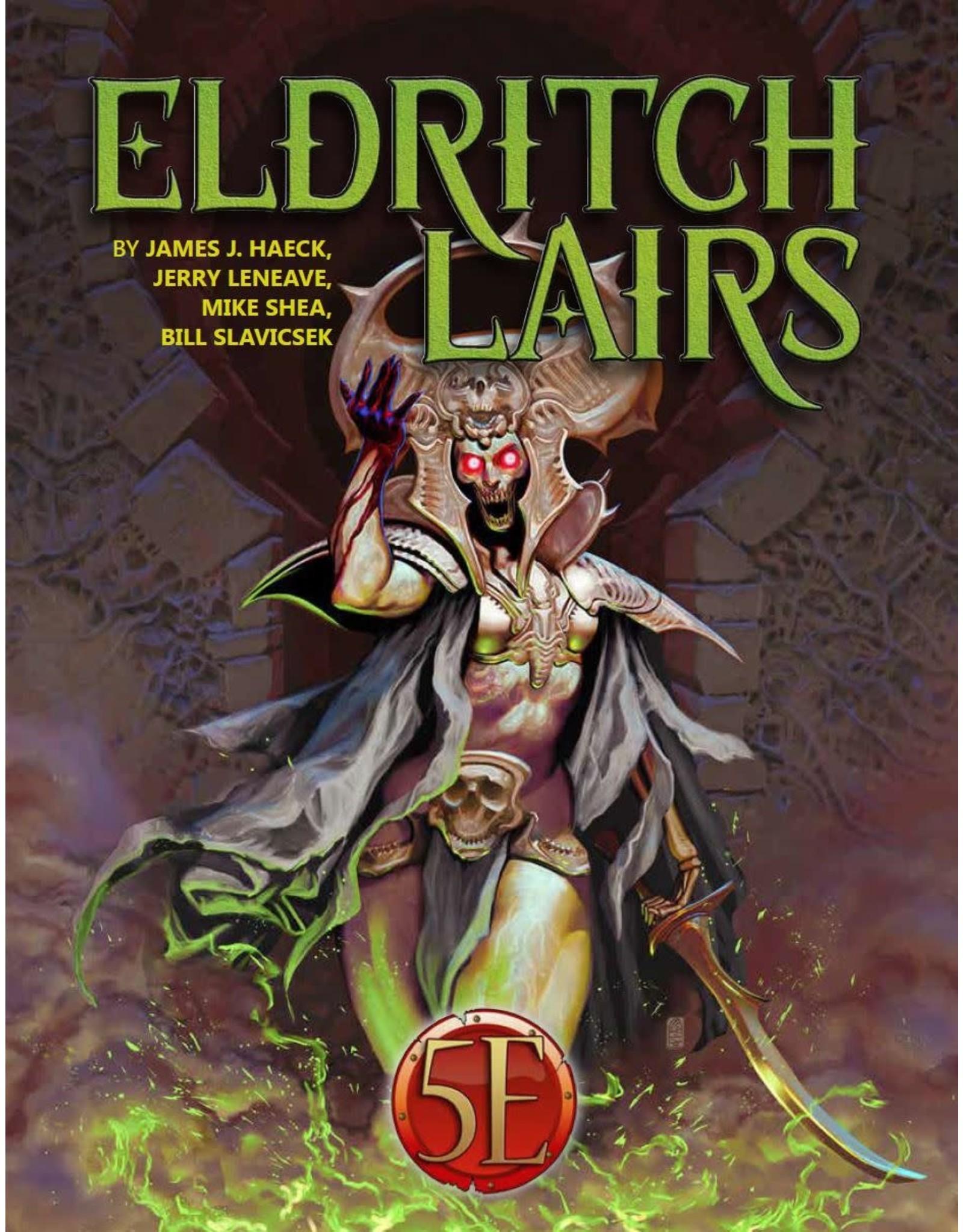 D&D 5e Eldritch Lairs