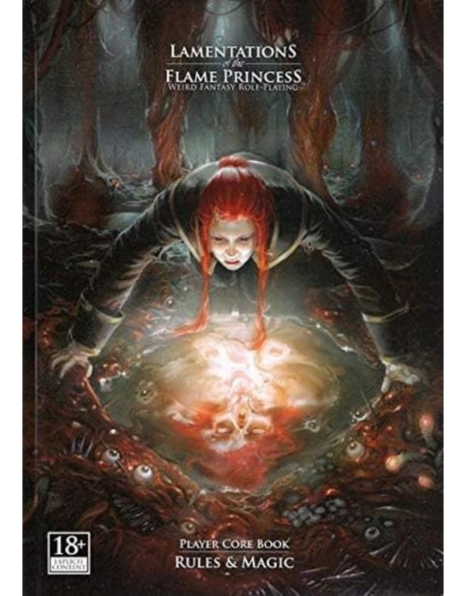 Lamentations of the Flame Princess RPG Core Rulebook