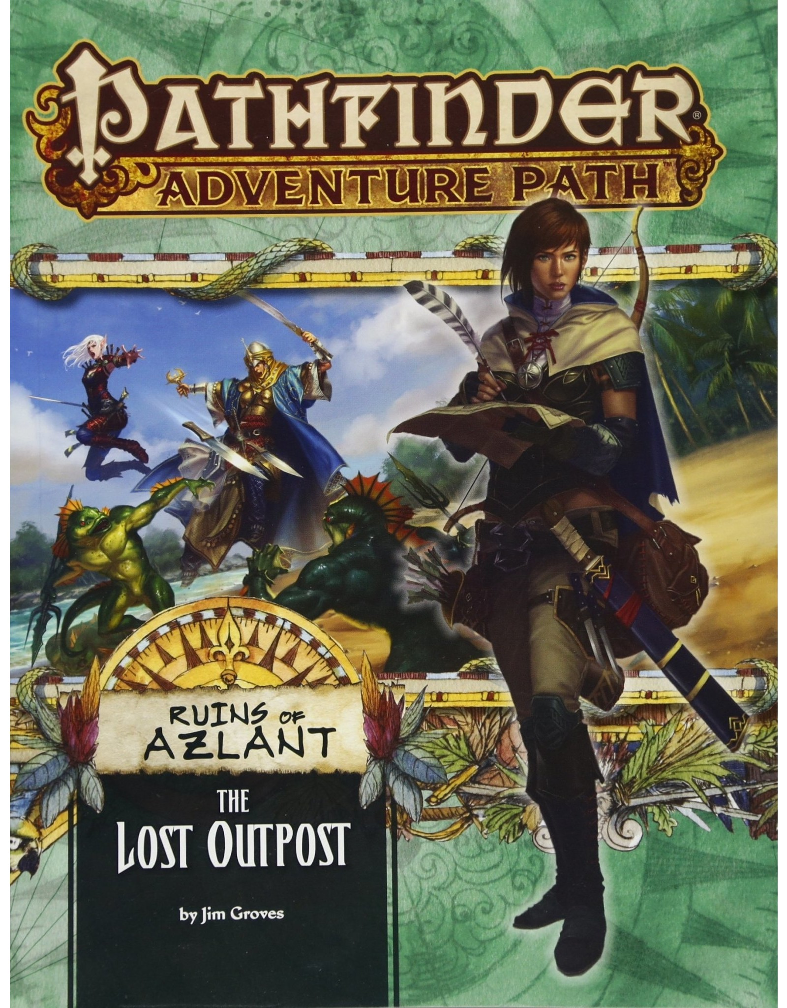 Pathfinder Adventure Path: Ruins of Azlant 1 The Lost Outpost