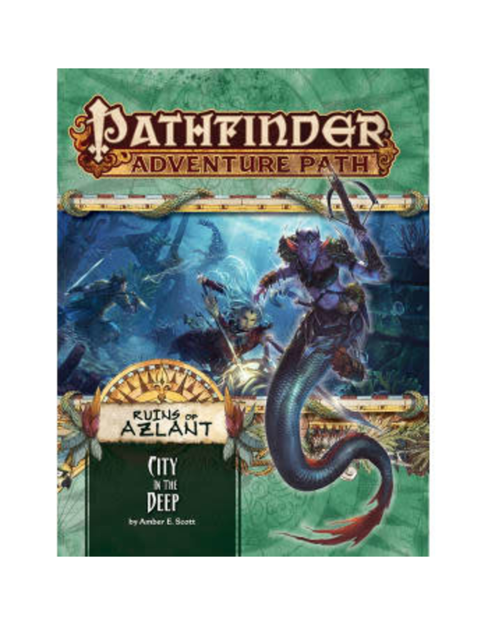 Pathfinder Adventure Path: Ruins of Azlant 4 City in the Deep