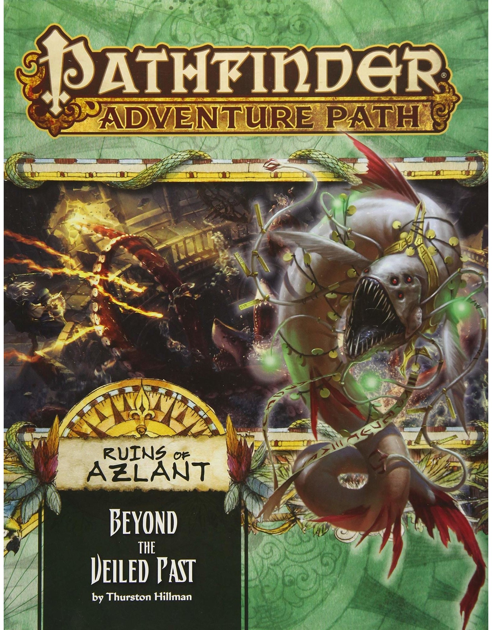 Pathfinder Adventure Path: Ruins of Azlant 5 Beyond the Veiled Past