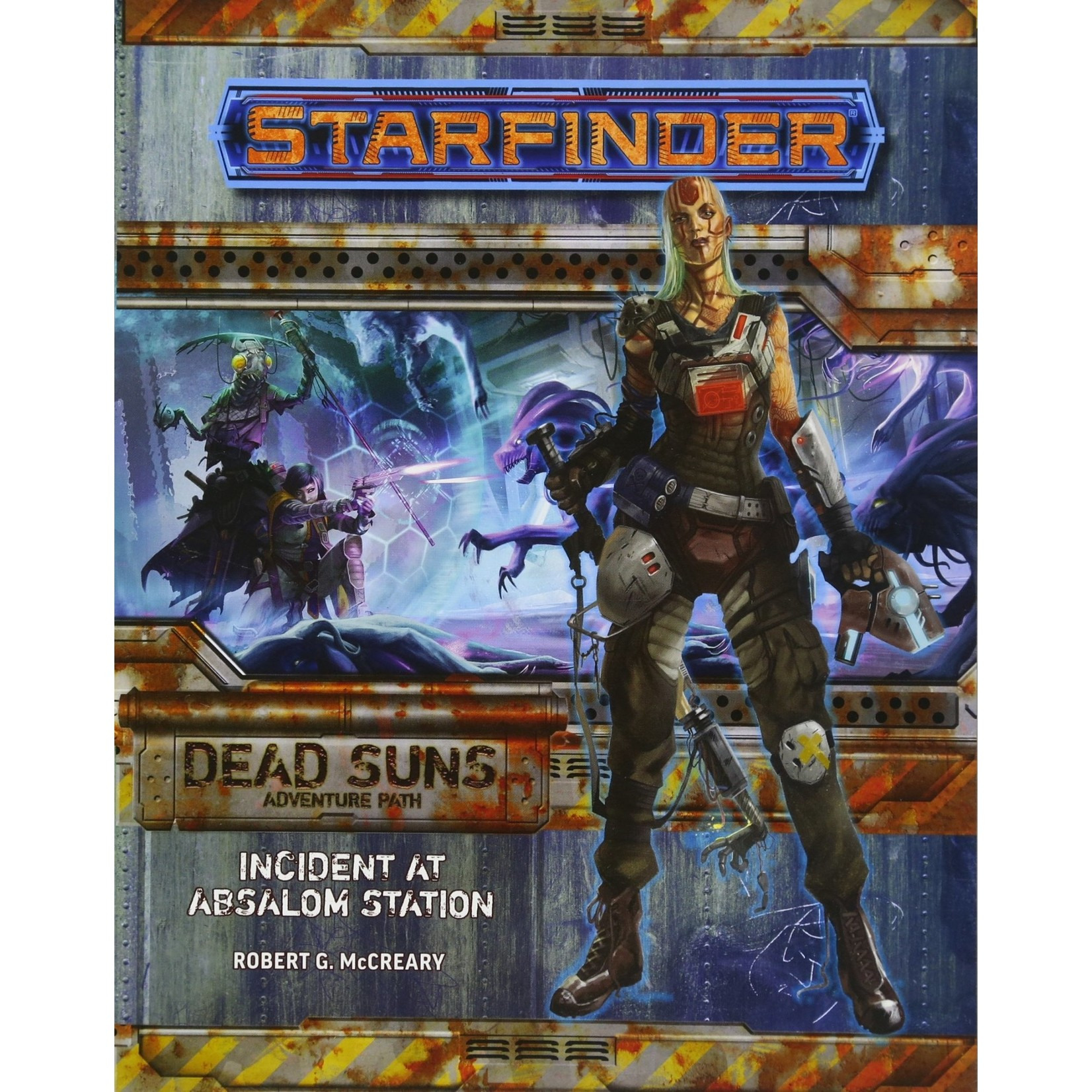 Starfinder RPG Adventure Path: Dead Suns 1 Incident at Absalom Station