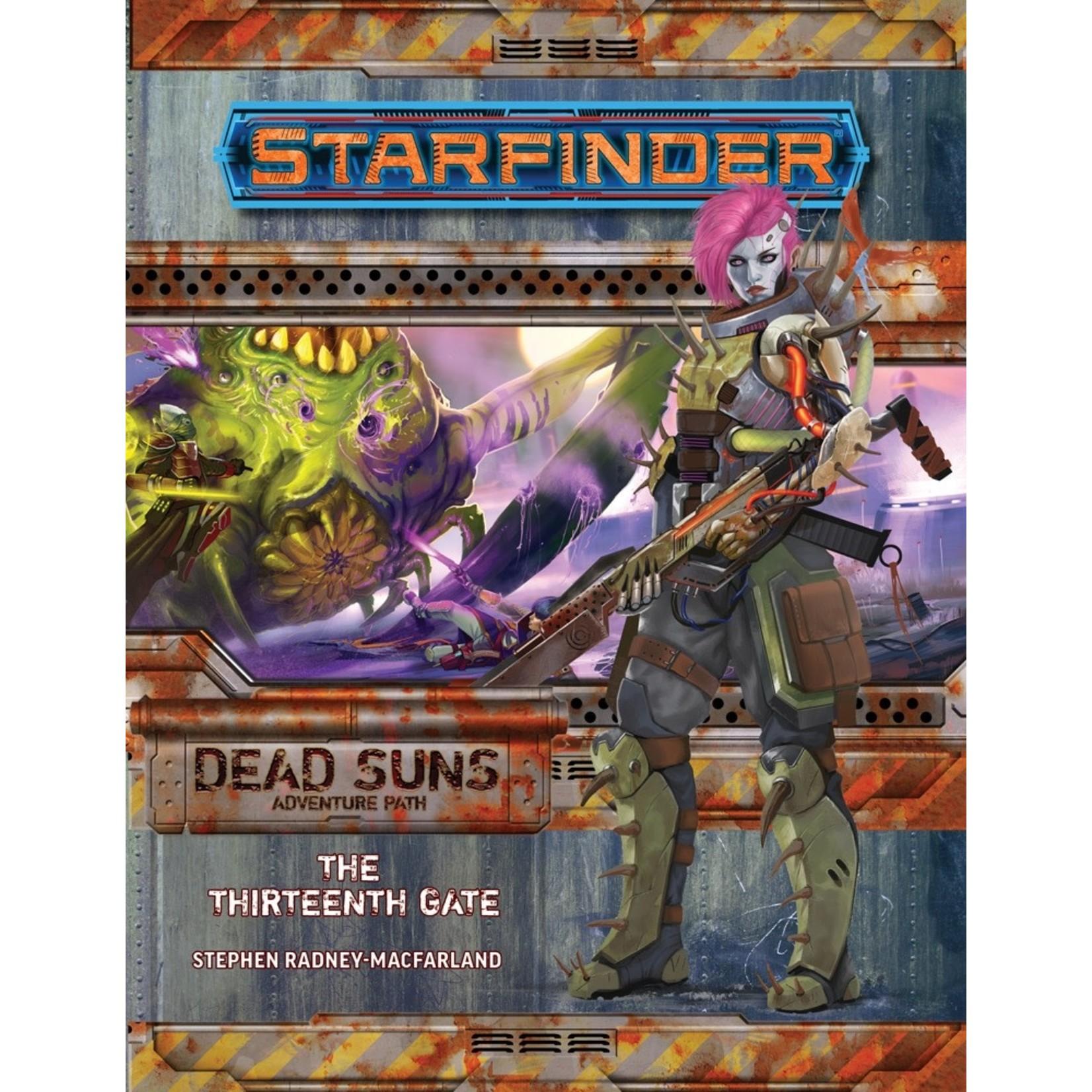 Starfinder RPG Adventure Path: Dead Suns 5 The Thirteenth Gate