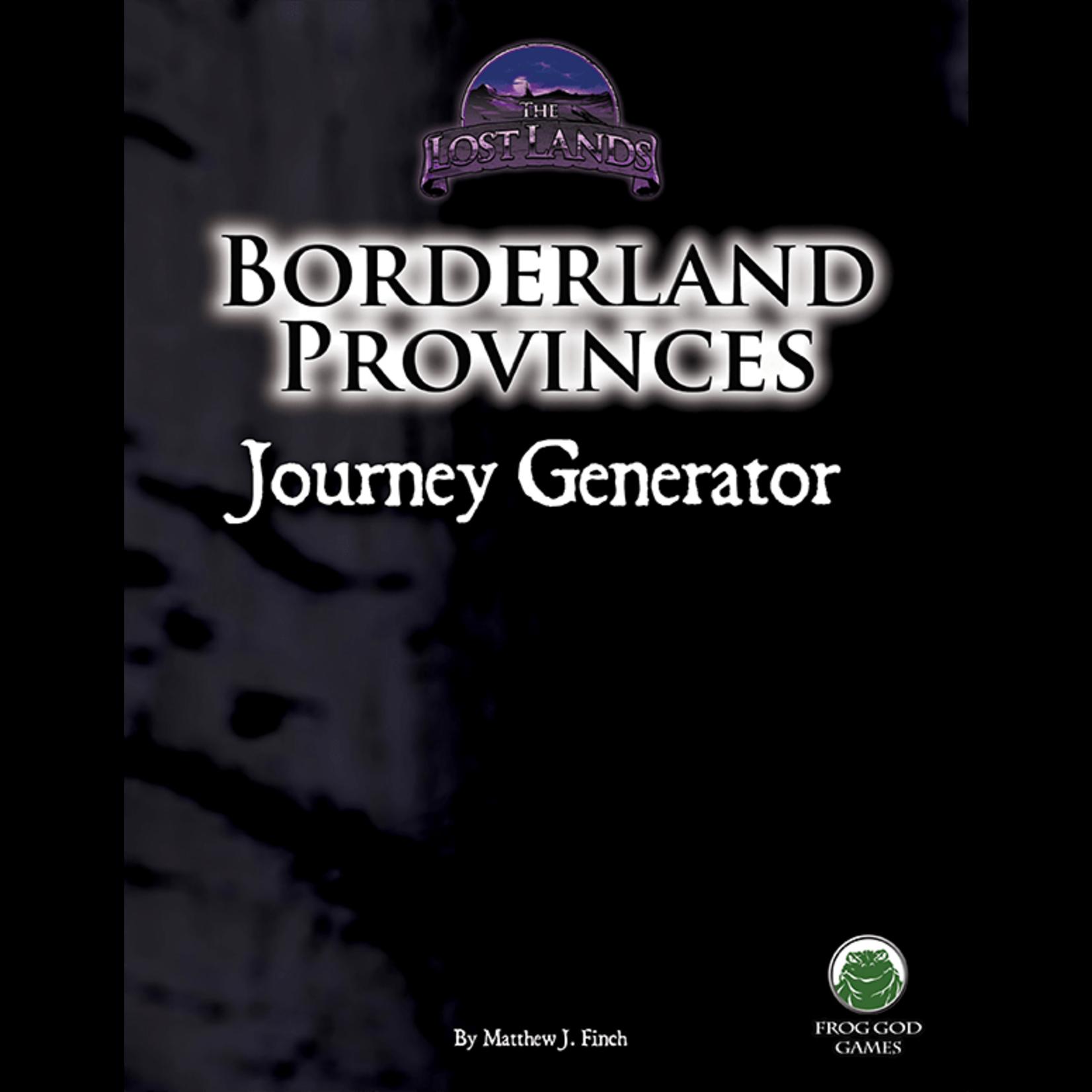 D&D 5e Borderland Provinces: Journey Generator