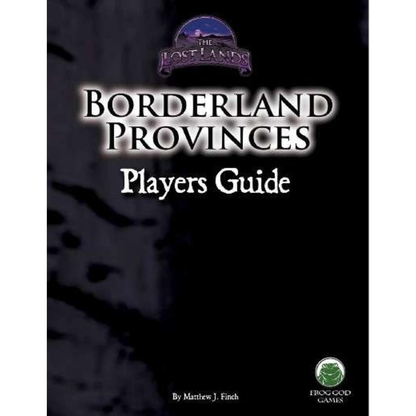 D&D 5e Borderland Provinces: Player's Guide
