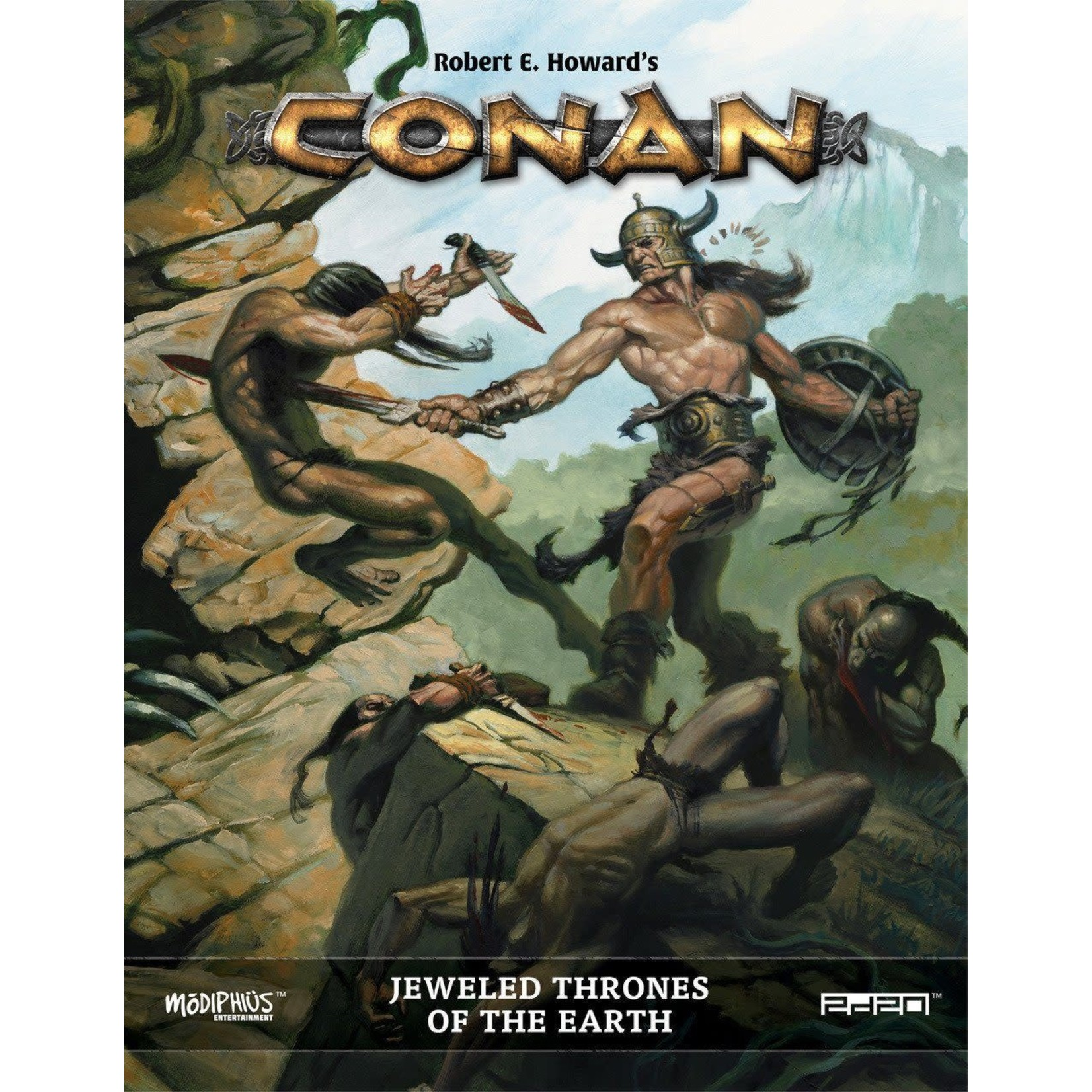 Conan: Jeweled Thrones of the Earth Adventure Module