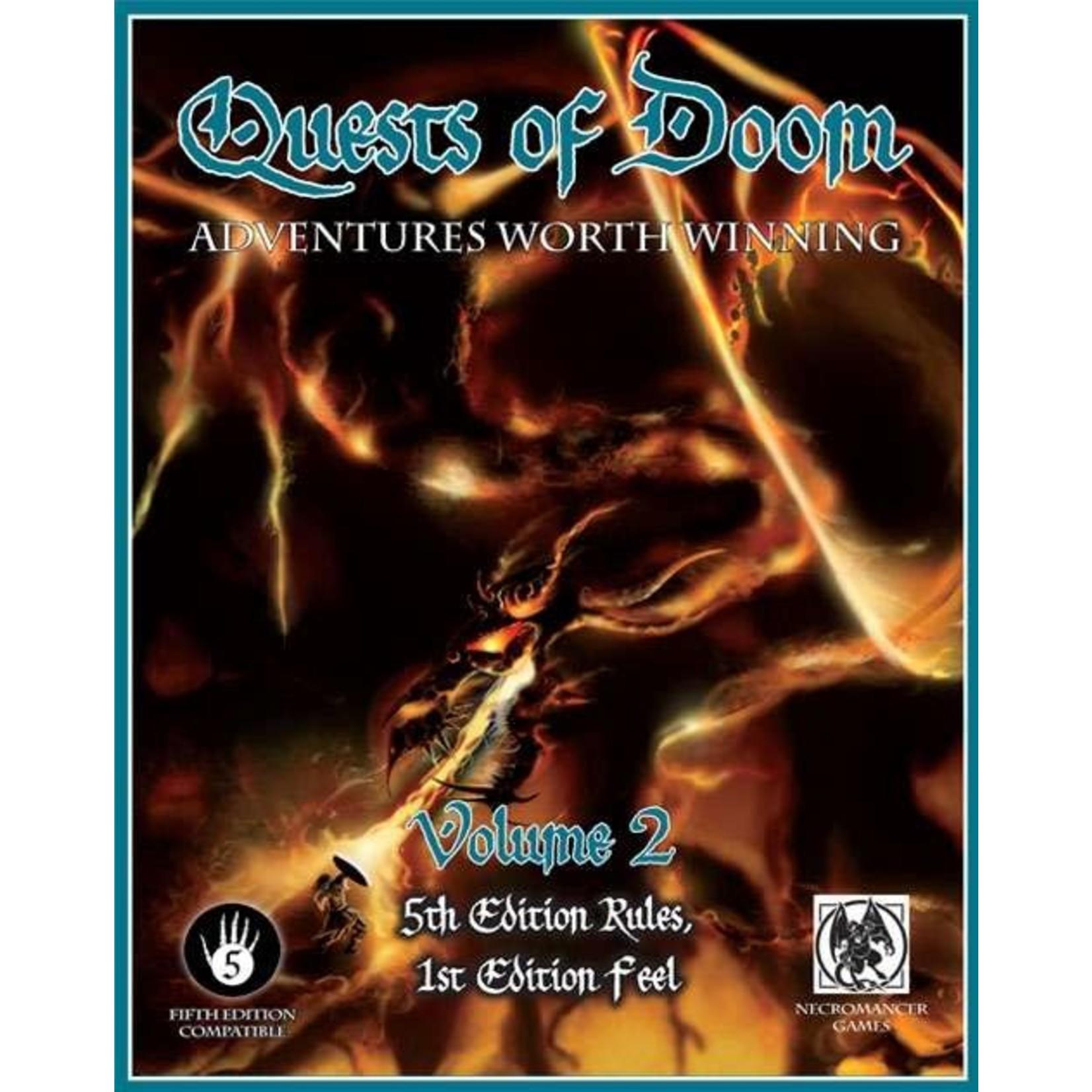 5E RPG Quests of Doom Vol 2