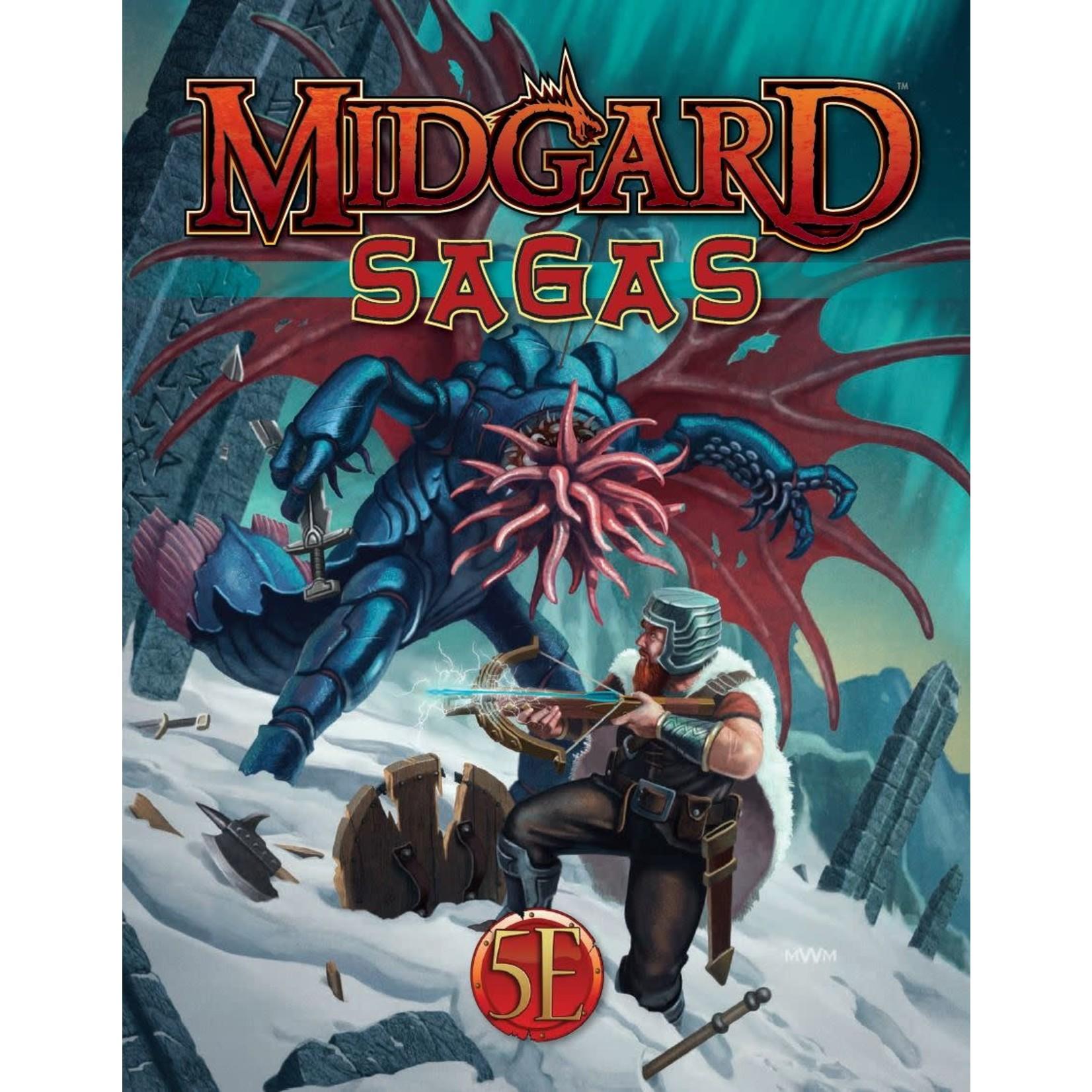 D&D 5e Midgard Sagas