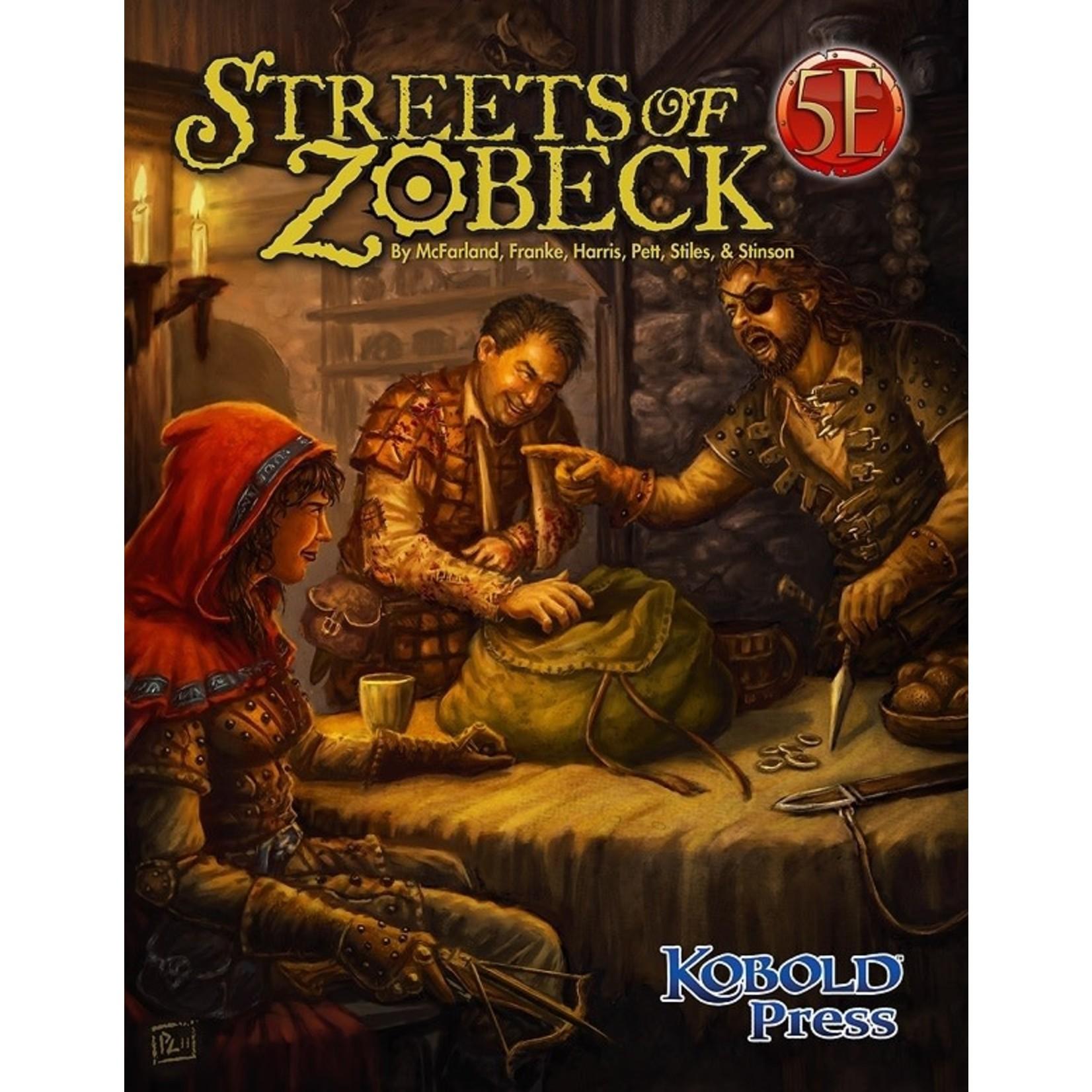D&D 5e Streets of Zobeck
