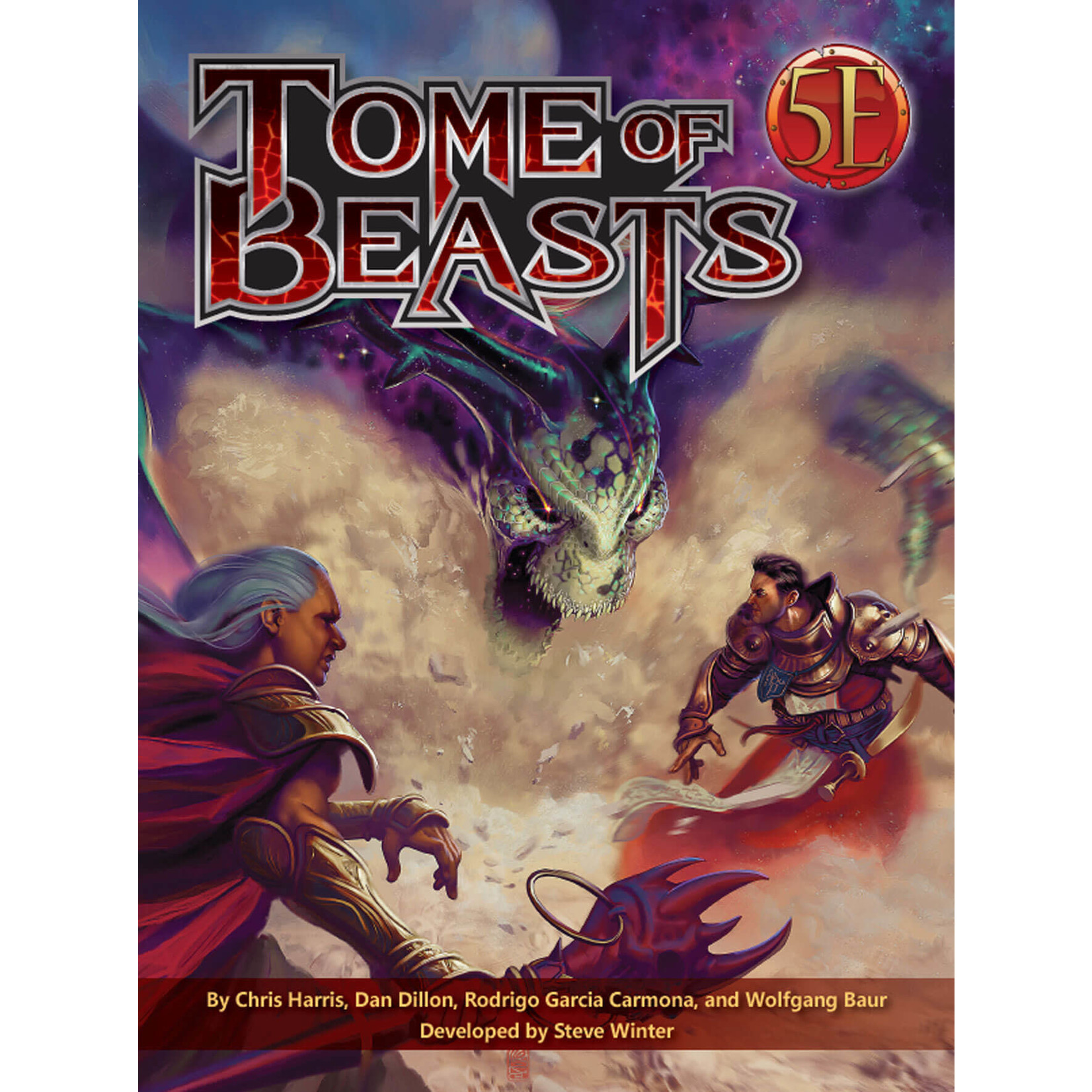 D&D 5e Tome of Beasts (Hardcover)