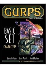 GURPS 4E Characters Base Set