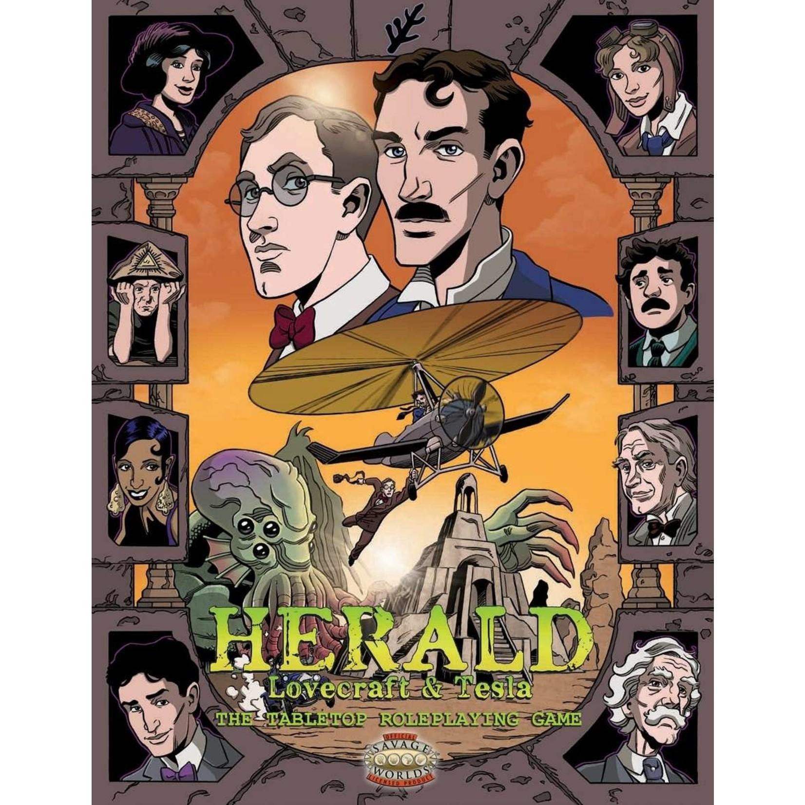 Herald: Tesla & Lovecraft RPG