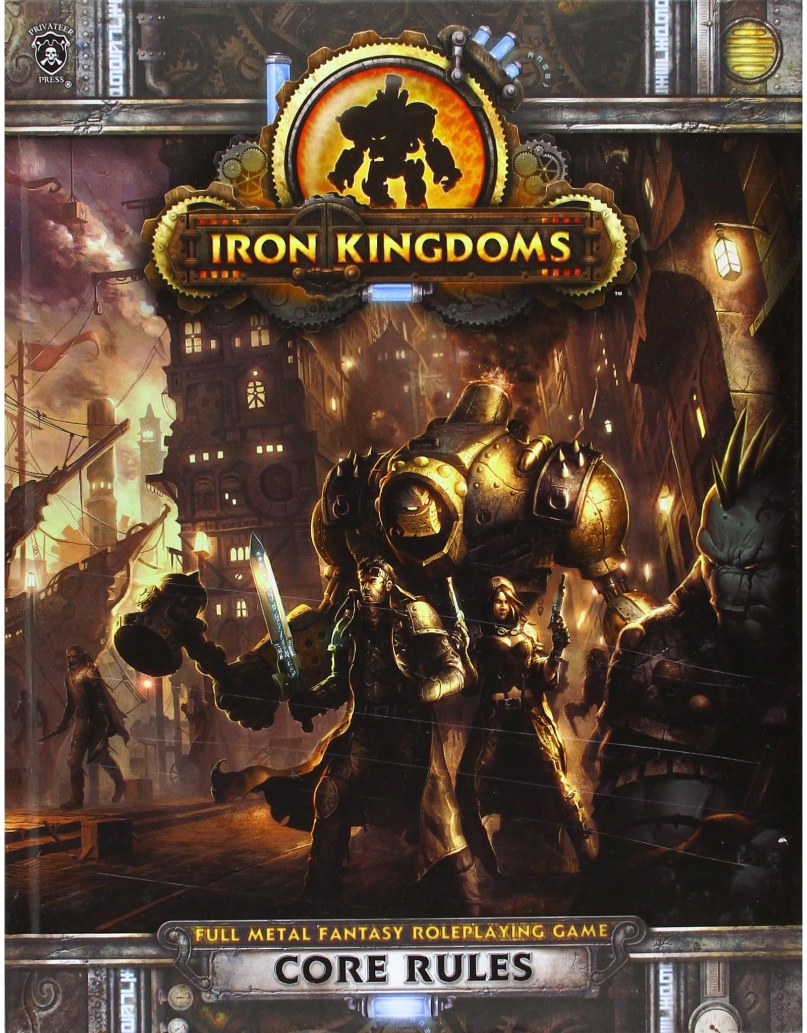 Iron Kingdoms Full Metal Fantasy RPG Core Rulebook