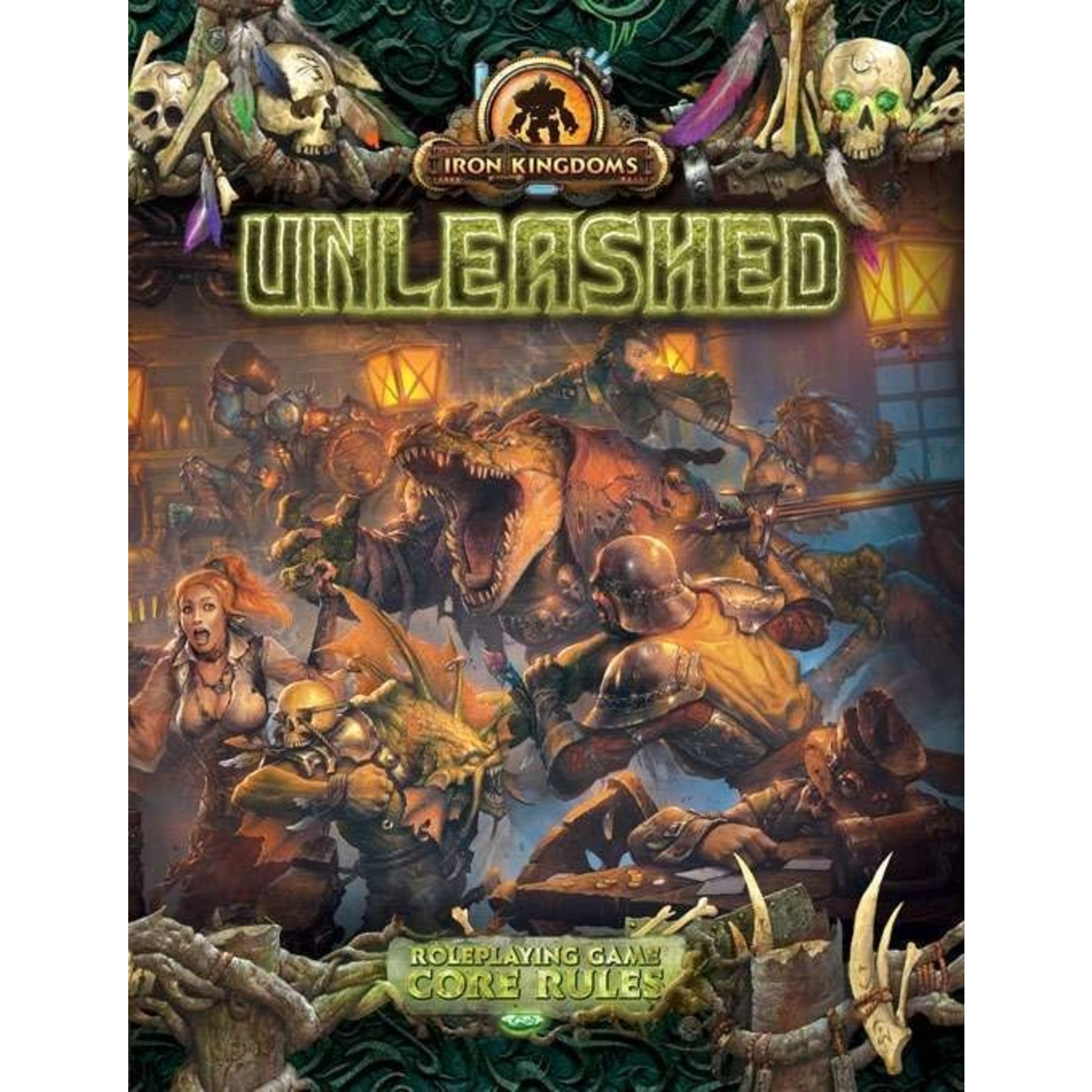 Iron Kingdoms Unleashed RPG Core Rulebook