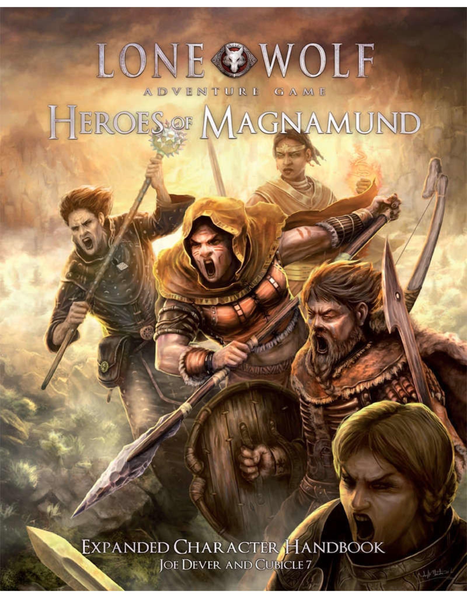 Lone Wolf Adventure Game RPG Heroes of Magnamund