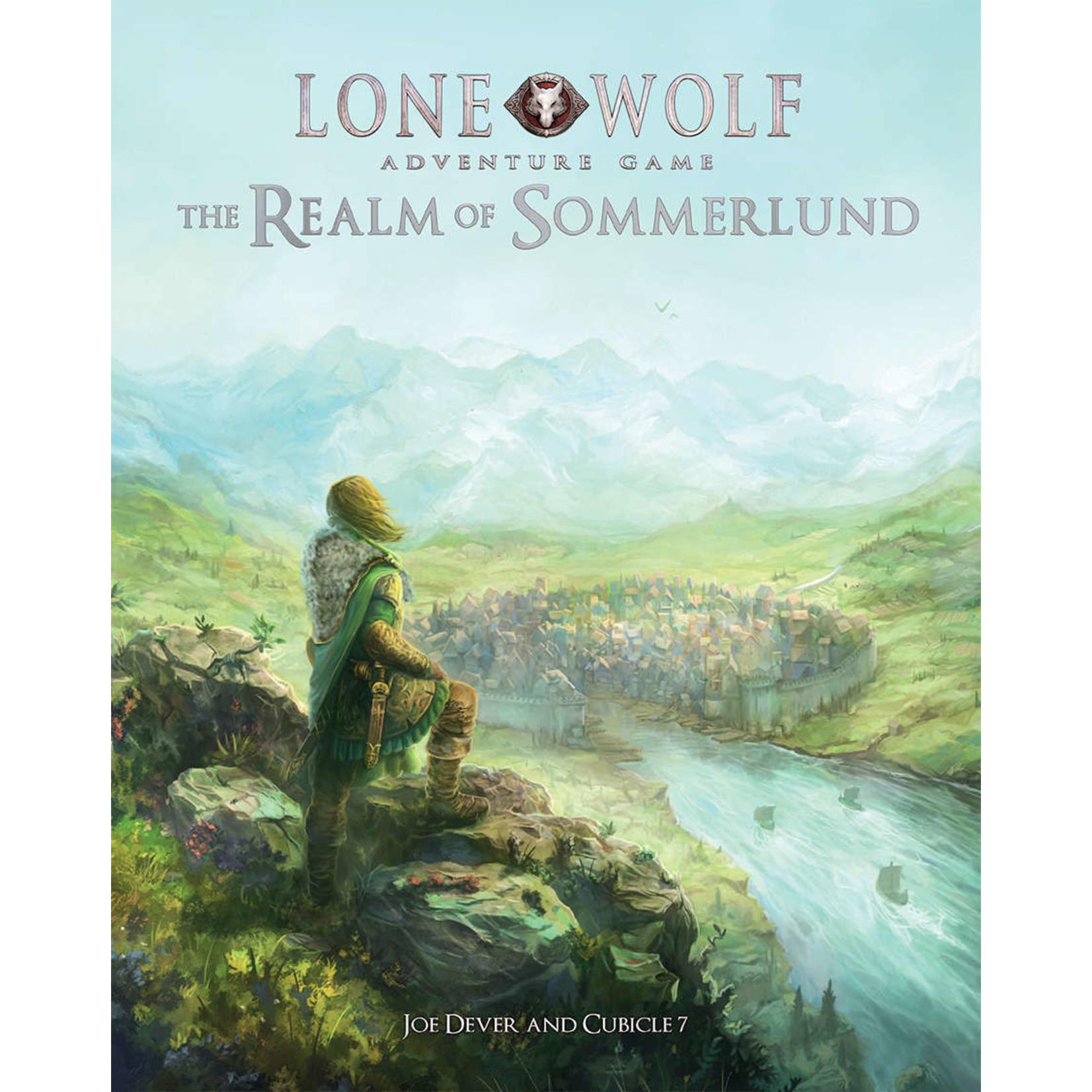 Lone Wolf Adventure Game RPG Sommerlund