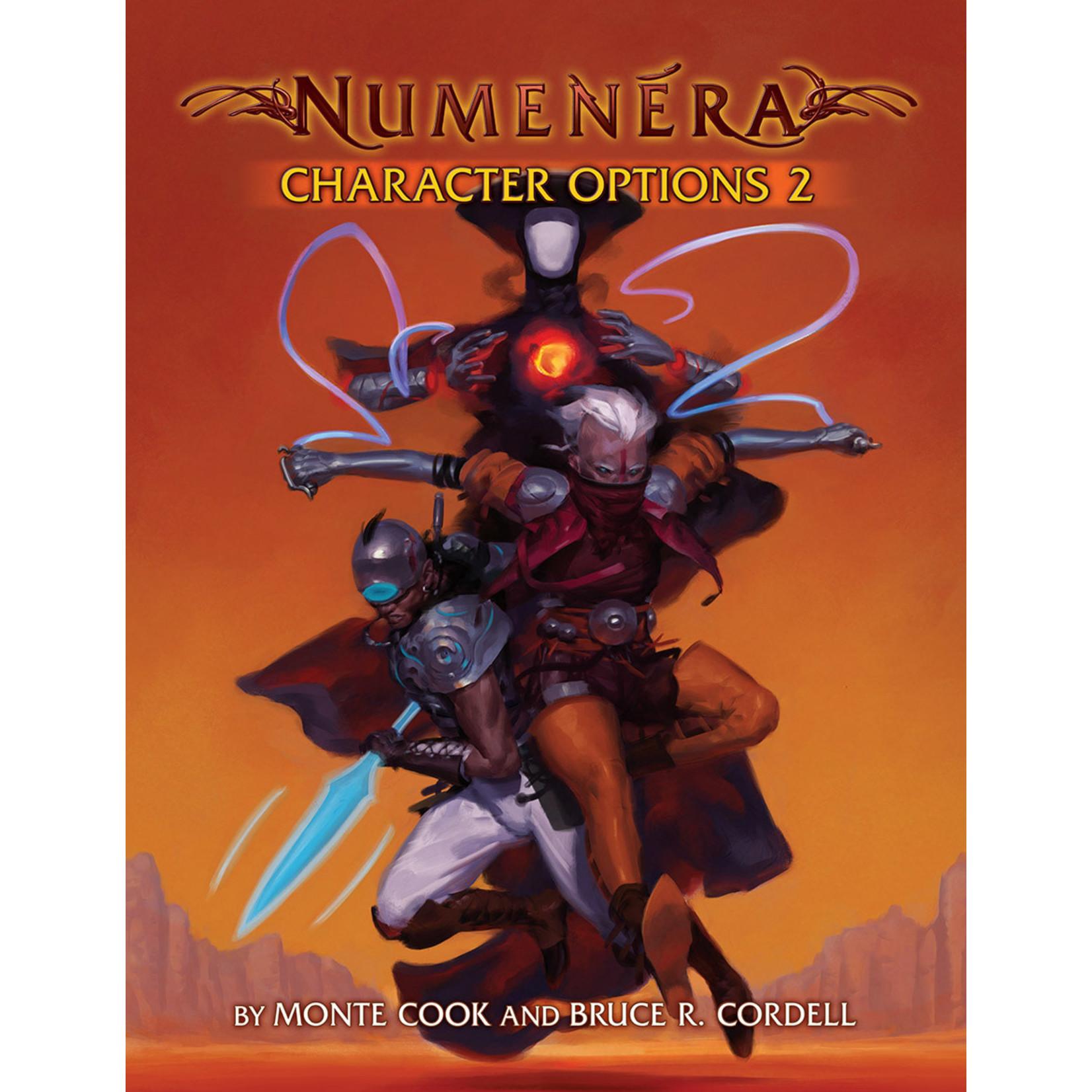 Numenera RPG Character Options 2
