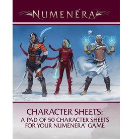 Numenera RPG Character Sheet