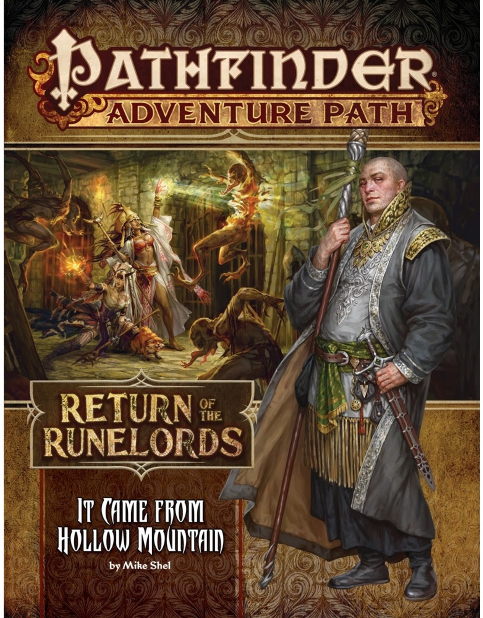 Pathfinder Adventure Path #134: Return of the Runelords - It Came from Hollow Mountain