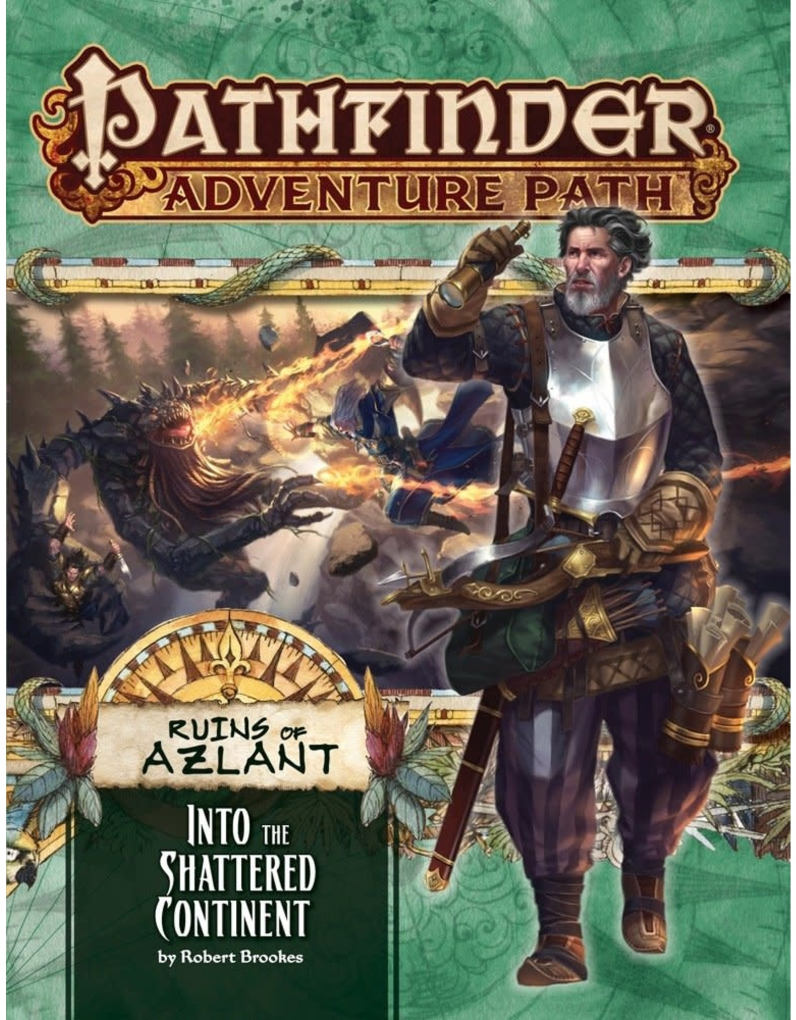 Pathfinder Adventure Path: Ruins of Azlant 2 Into the Shattered Continent