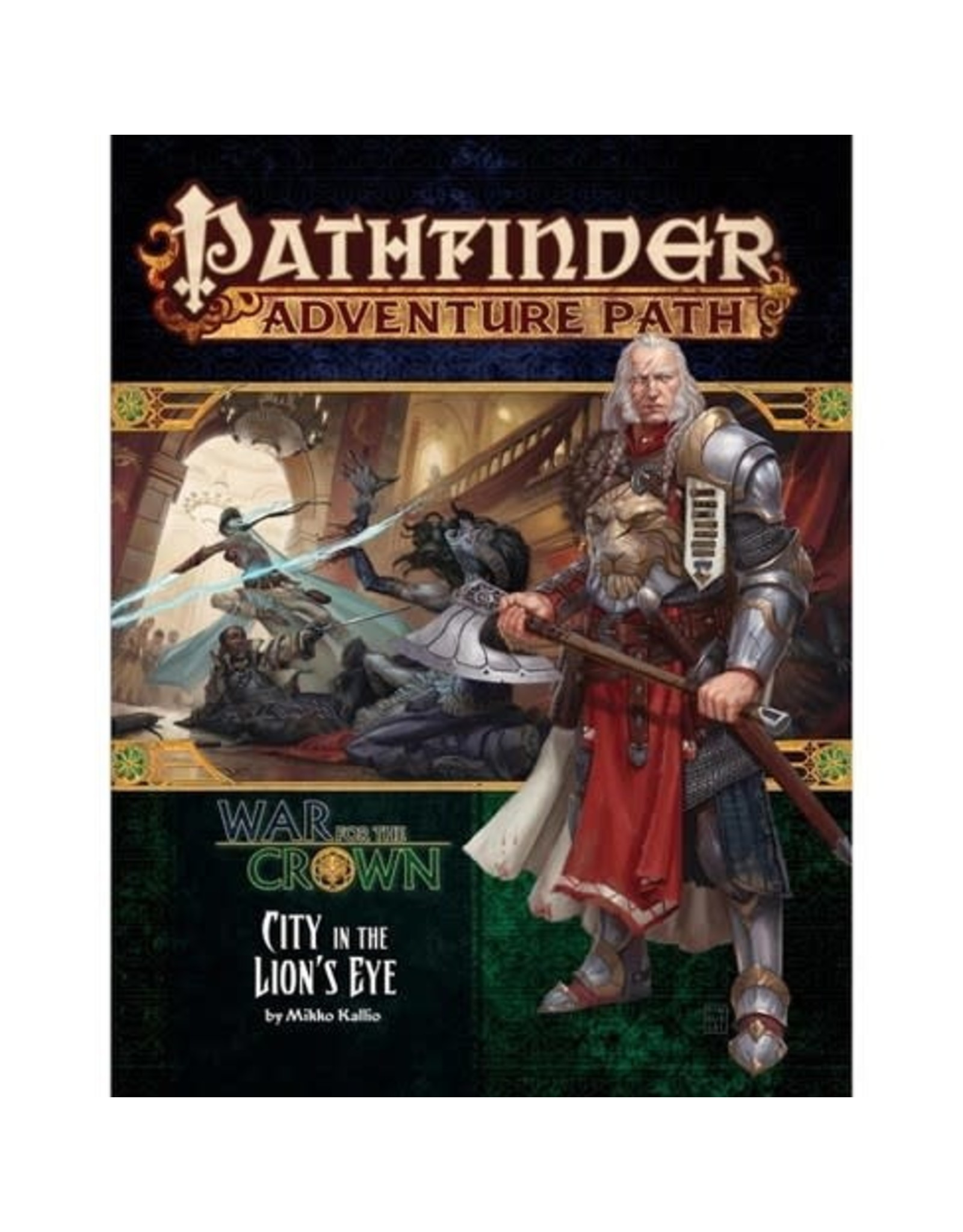 Pathfinder Adventure Path: War for the Crown #4 - CIty in the Lion's Eye