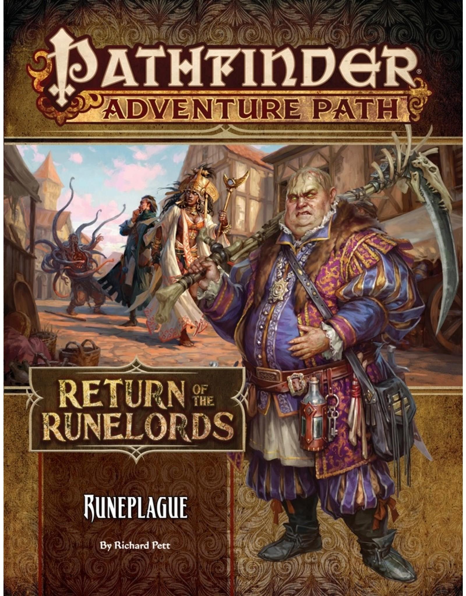 Pathfinder RPG Adventure Path #135 Return of the Runelords: Runeplague
