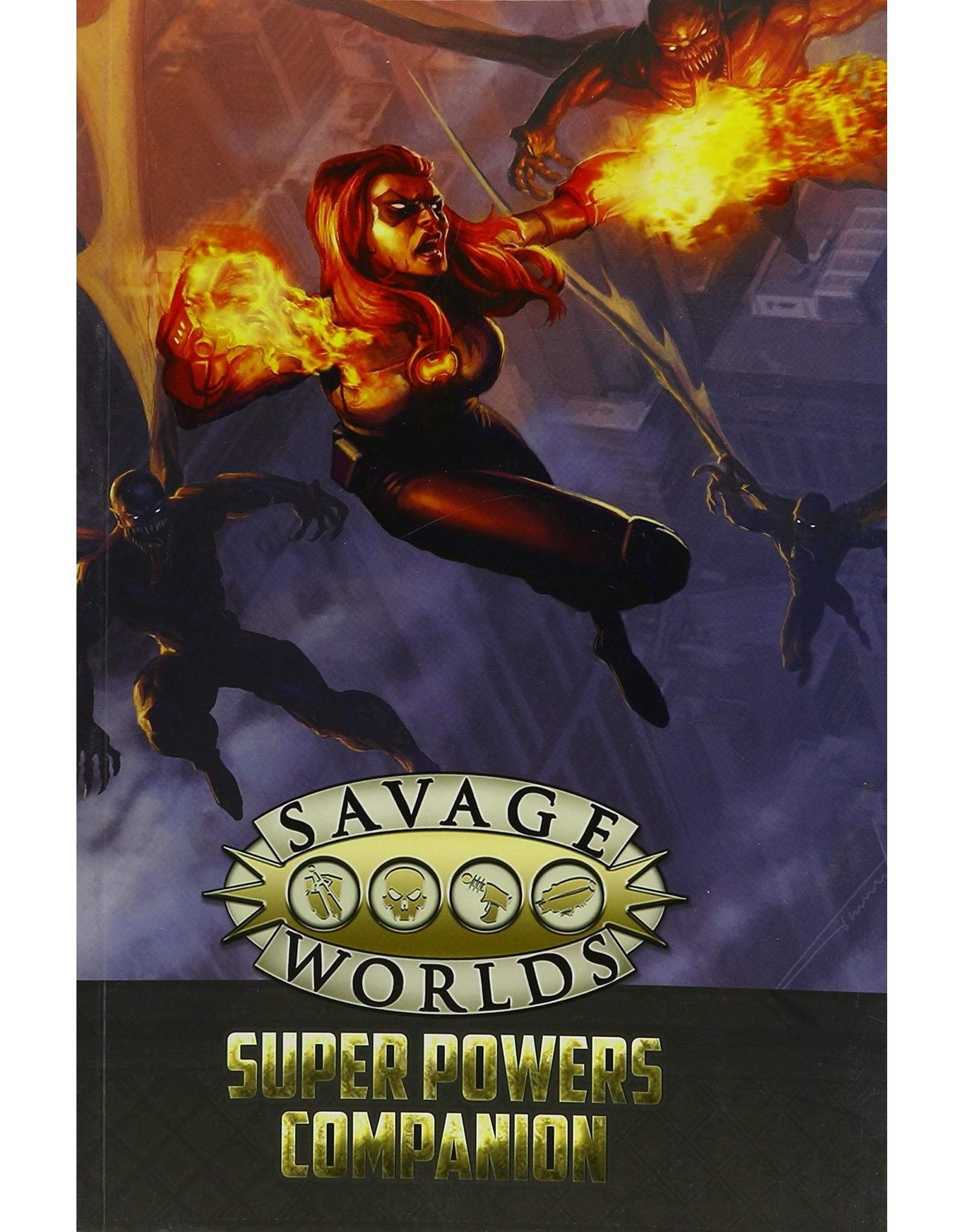 Savage Worlds: Super Powers Companion RPG