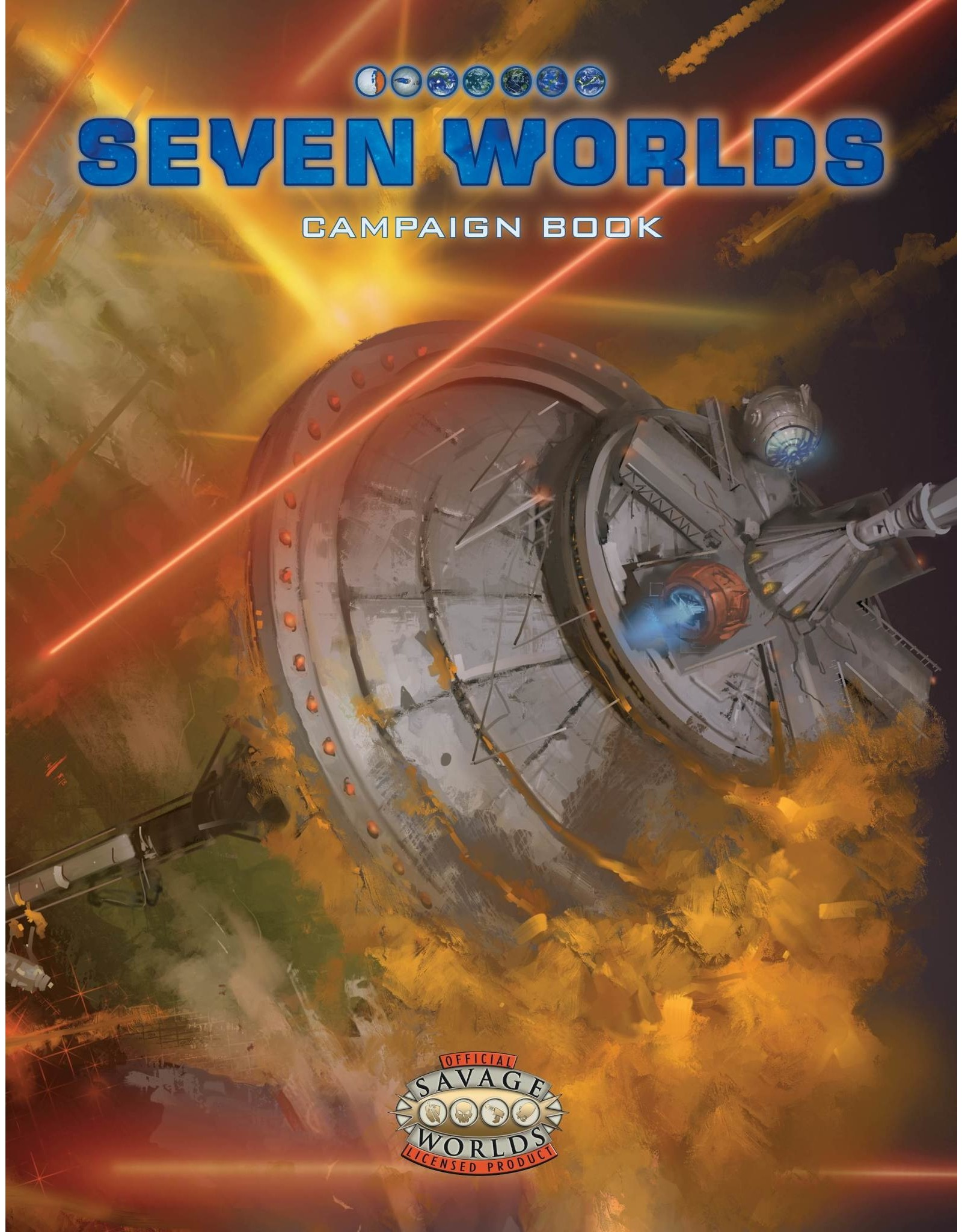 Savage Worlds RPG Seven Worlds Campaign Book