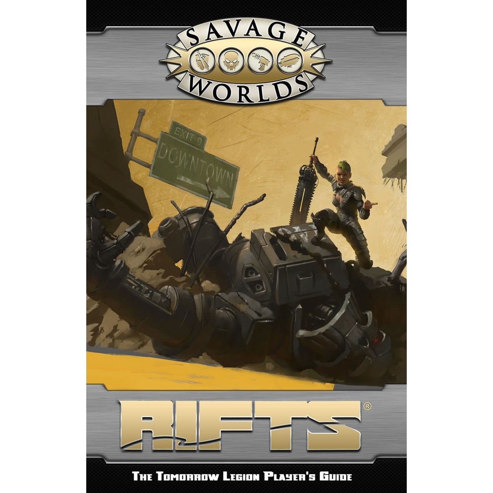 Savage Worlds: RIFTS The Tomorrow Legion Players Guide