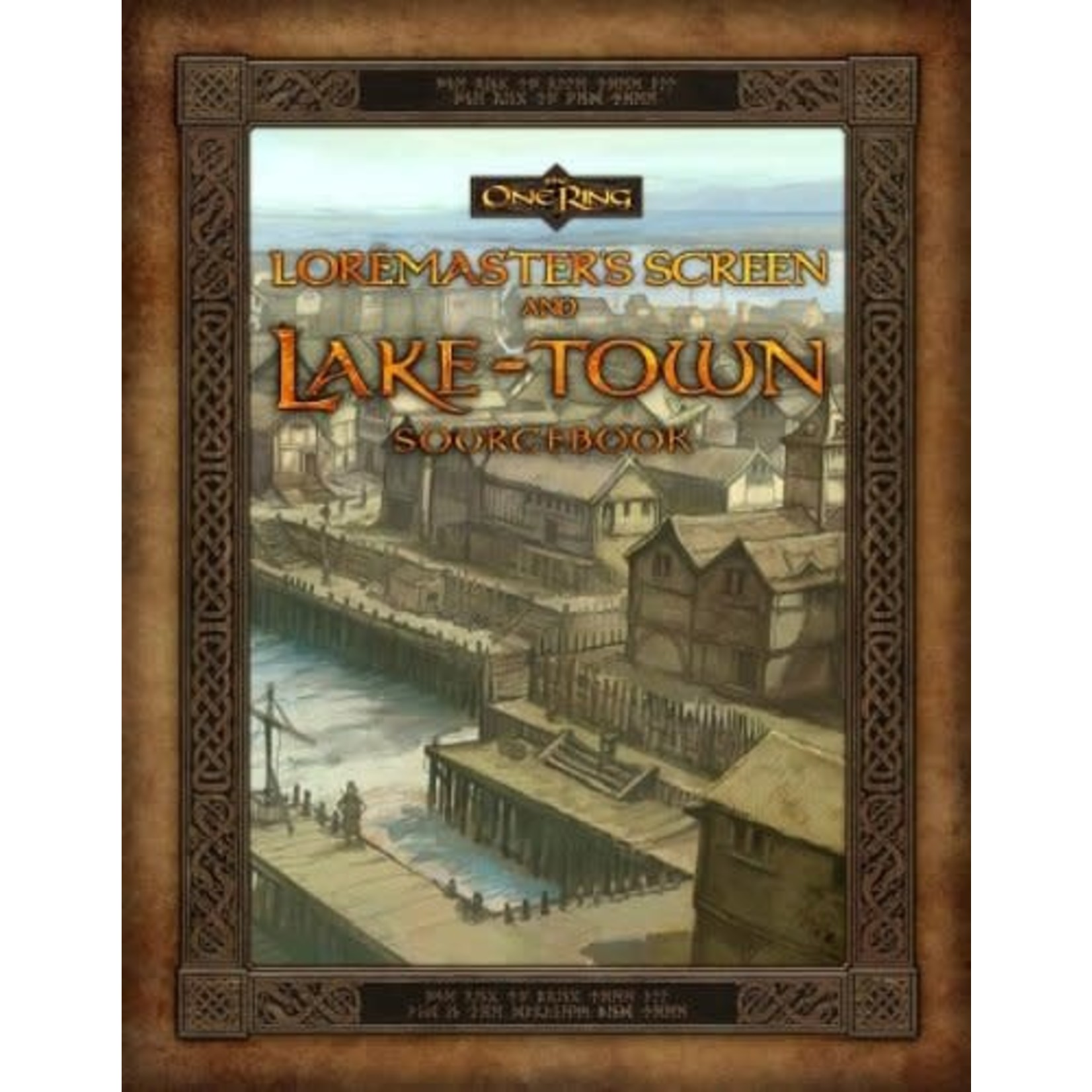 The One Ring RPG LM Screen & Laketown Sourcebook